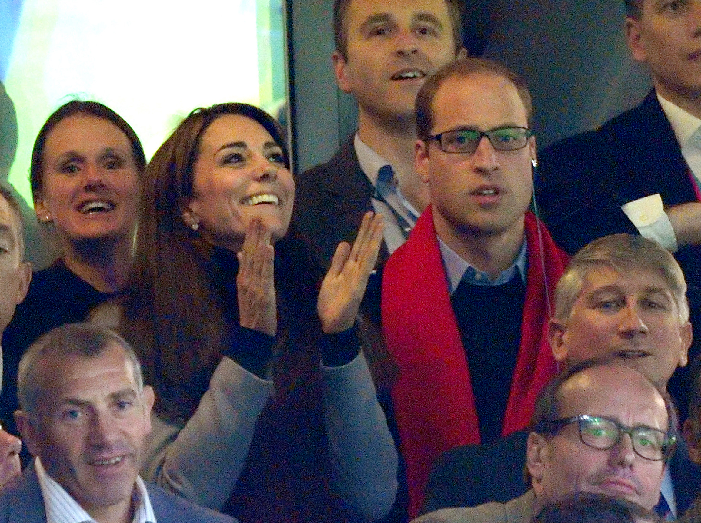 Kate Middleton and Prince William Prove They Are the Most Intense Rugby Fans