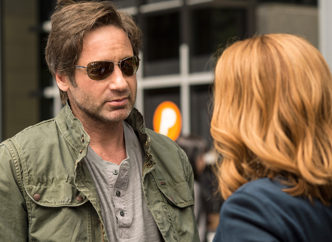 <p><strong>David Duchovny in <em>The X-Files</em></strong></p>