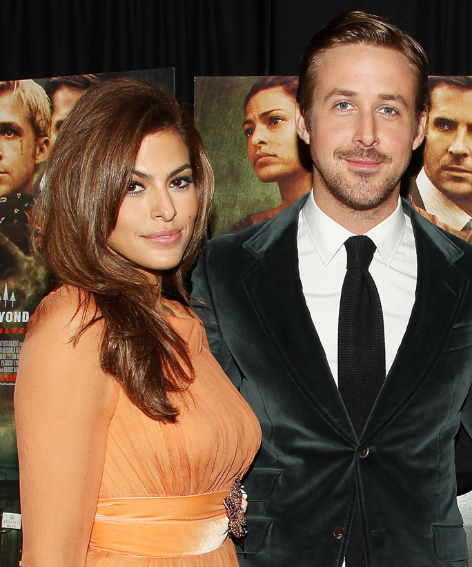 "Eva Mendes Gushes About ""Falling in Love"" with Ryan Gosling in a Rare Interview"