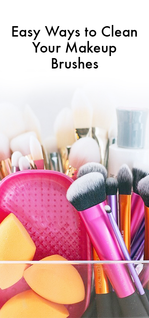 Pros\' Best Tricks for Cleaning Makeup Brushes Fast | InStyle.com