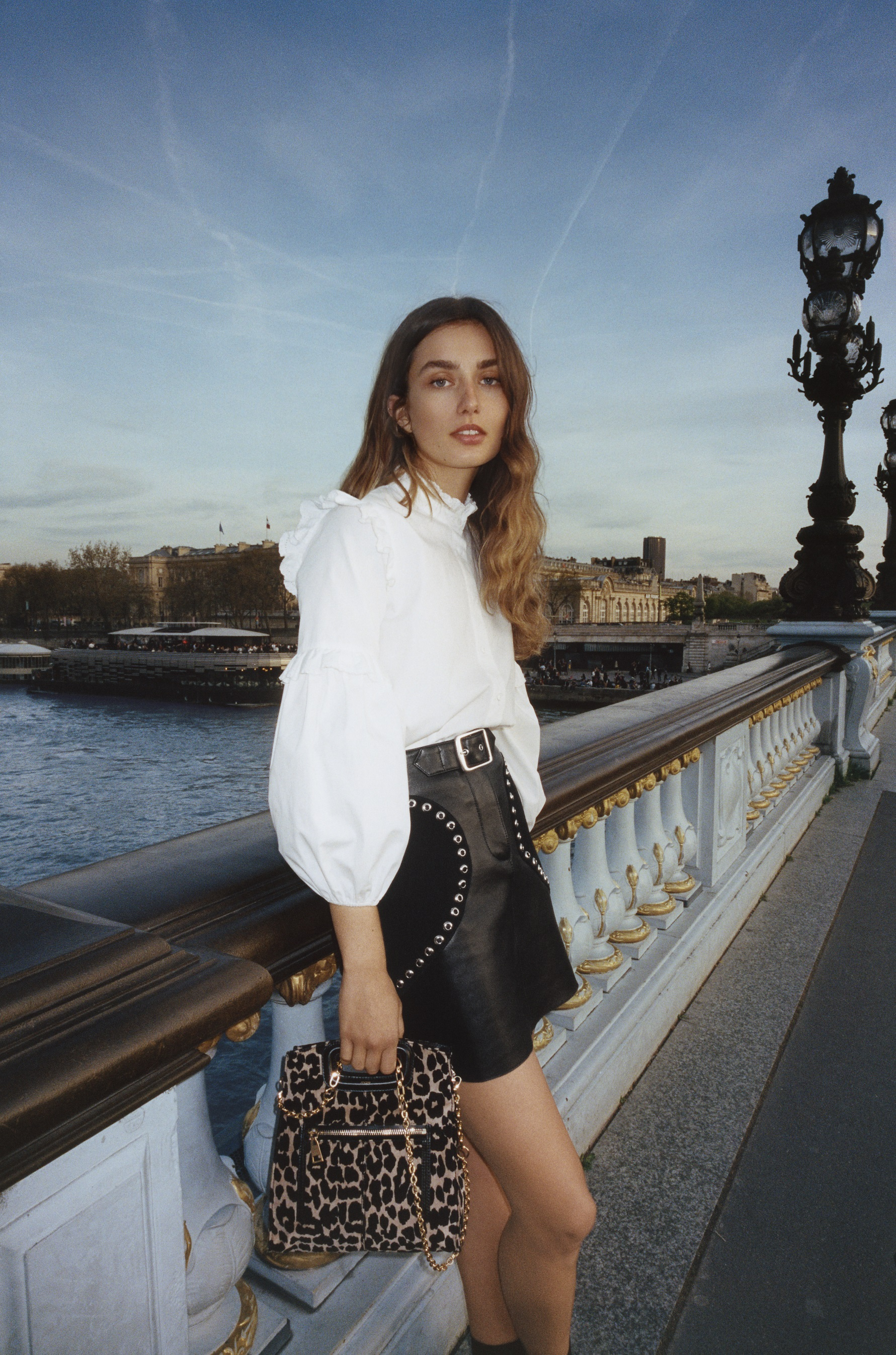 Model Andreea Diaconu Is Stunning Sans Makeup in Maje's Fall Ad Campaign