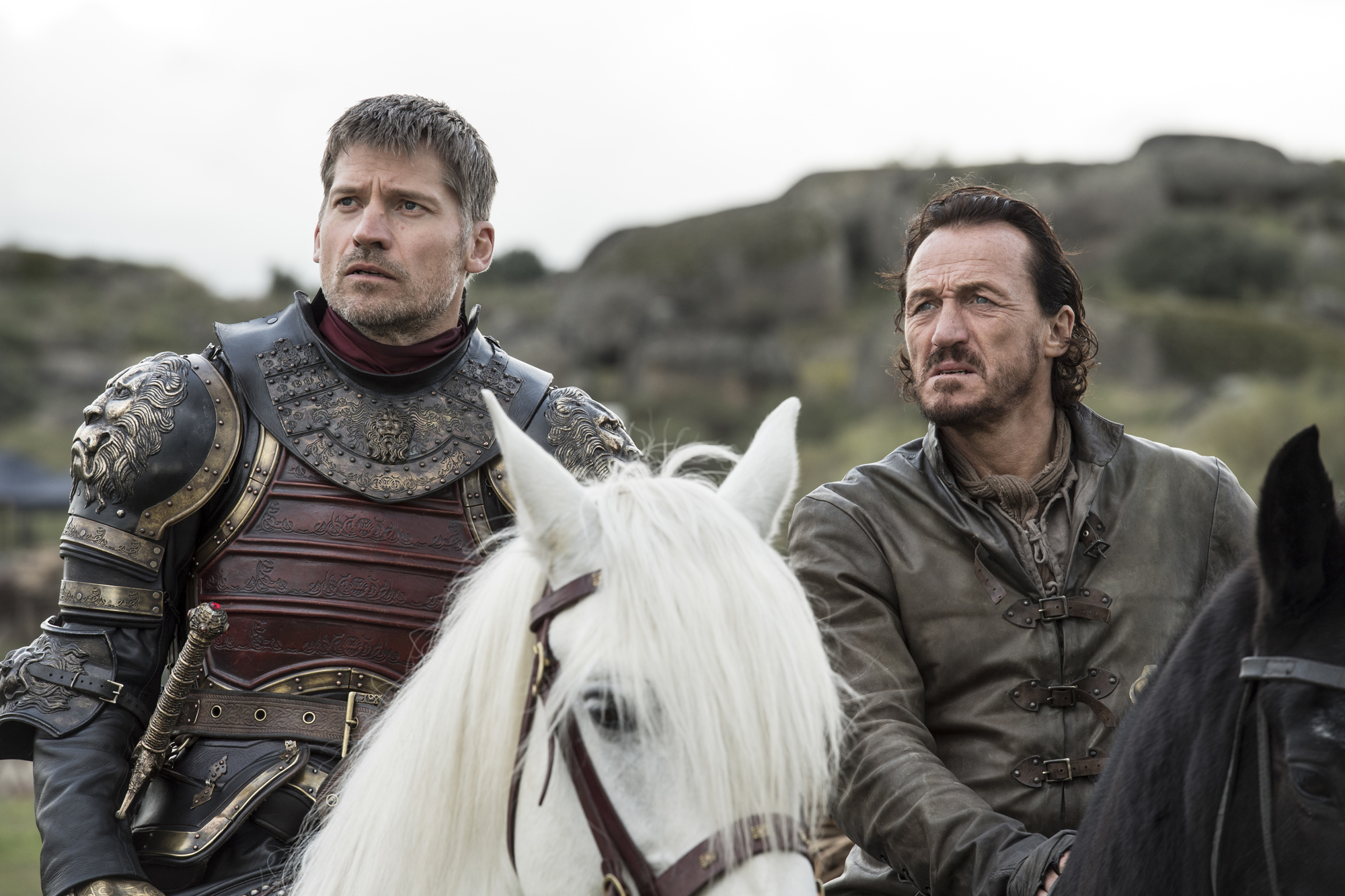 <p>Jaime Lannister and Bronn</p>
