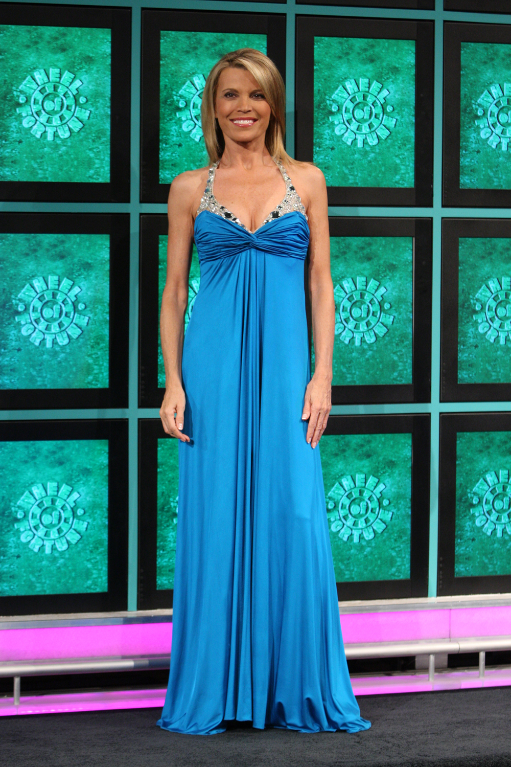 vanna white has worn more than 6500 gowns on wheel of