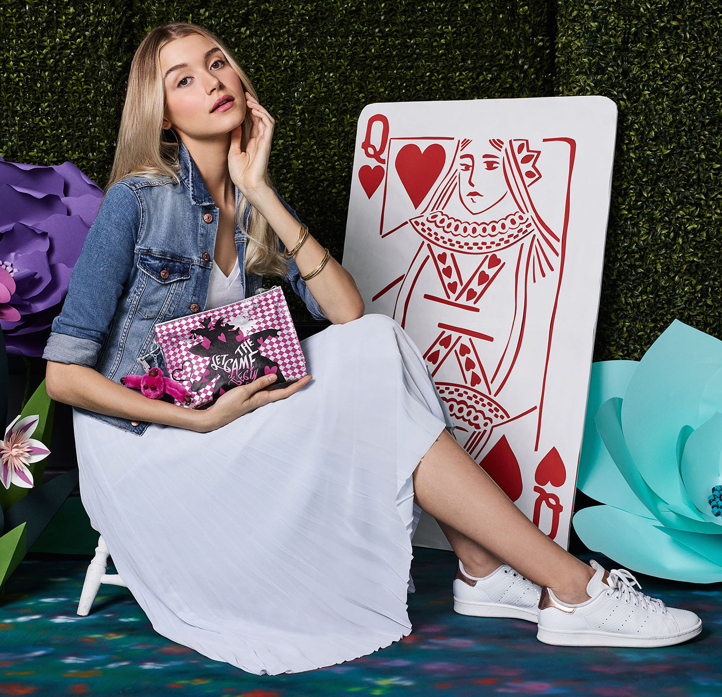 Kipling Launches It's Second Disney Collaboration, This Time It's Inspired by Alice in Wonderland