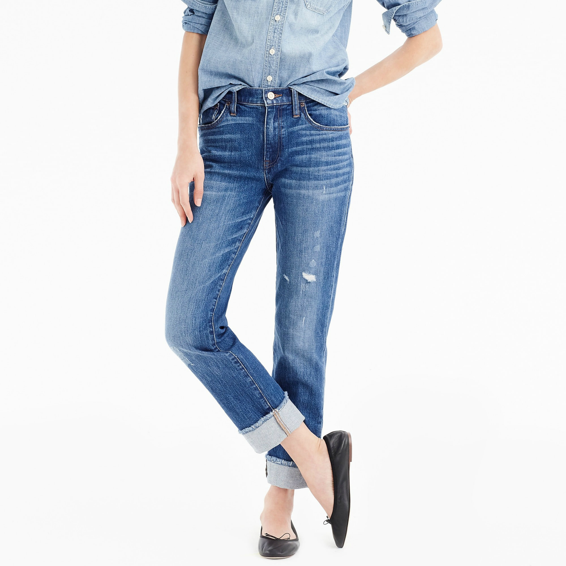 8968823f7487d A Guide to the Best Jeans for Petite Women | InStyle.com