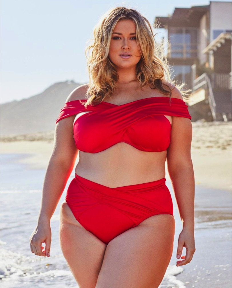 Hunter McGrady Just Launched the Plus-Size Swim Collection You'll Covet All Summer