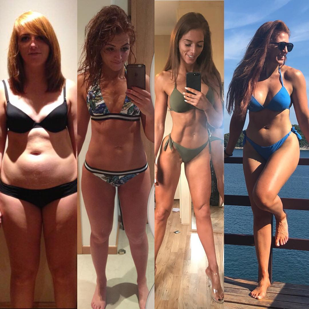 This Woman's Transformation Photos Prove That Having Abs Are Not the Key to Happiness