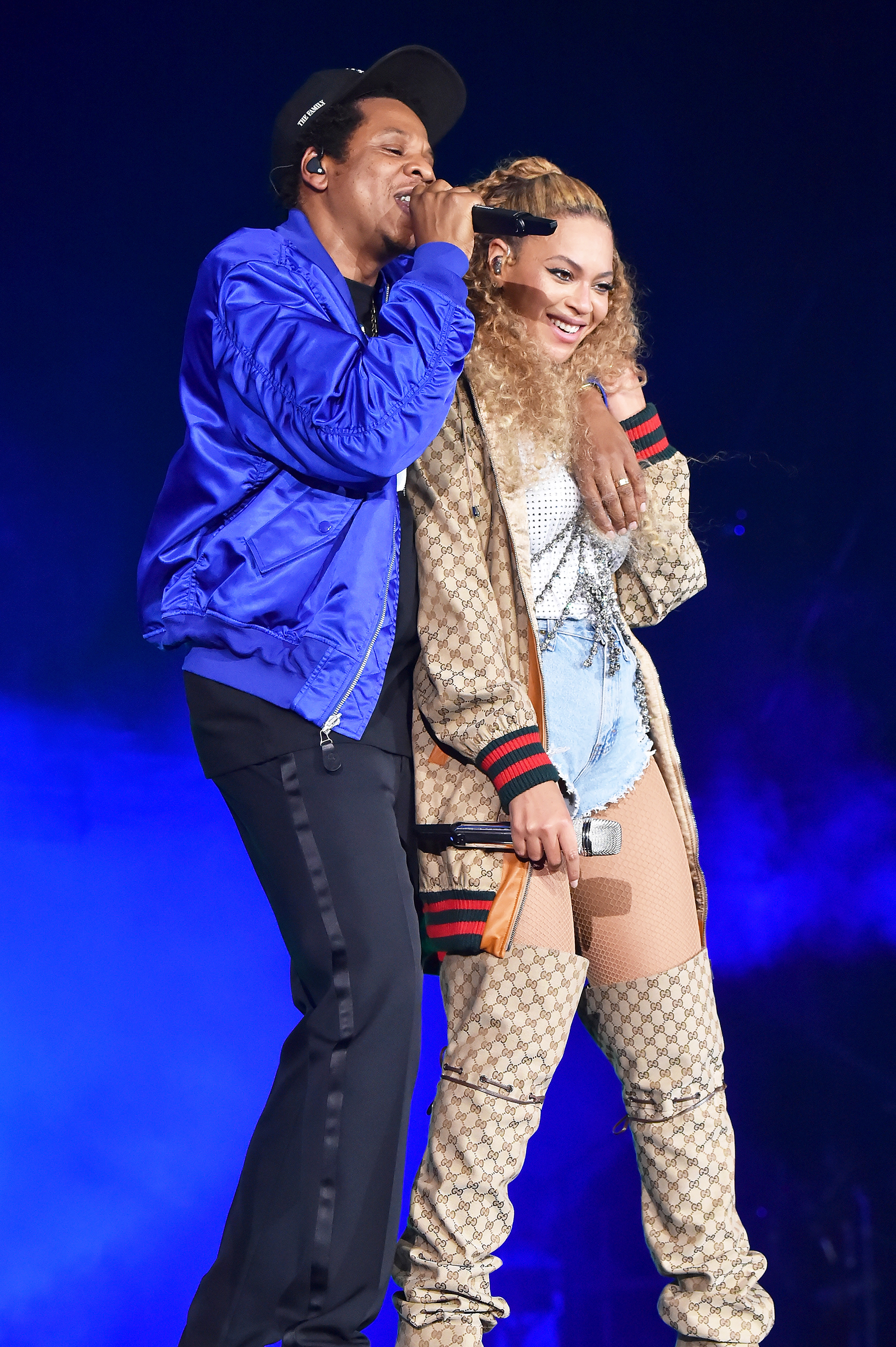 What Beyonce and Jay-Z's <em>On the Run II </em>Tour Looks Can Tell Us About Their Relationship