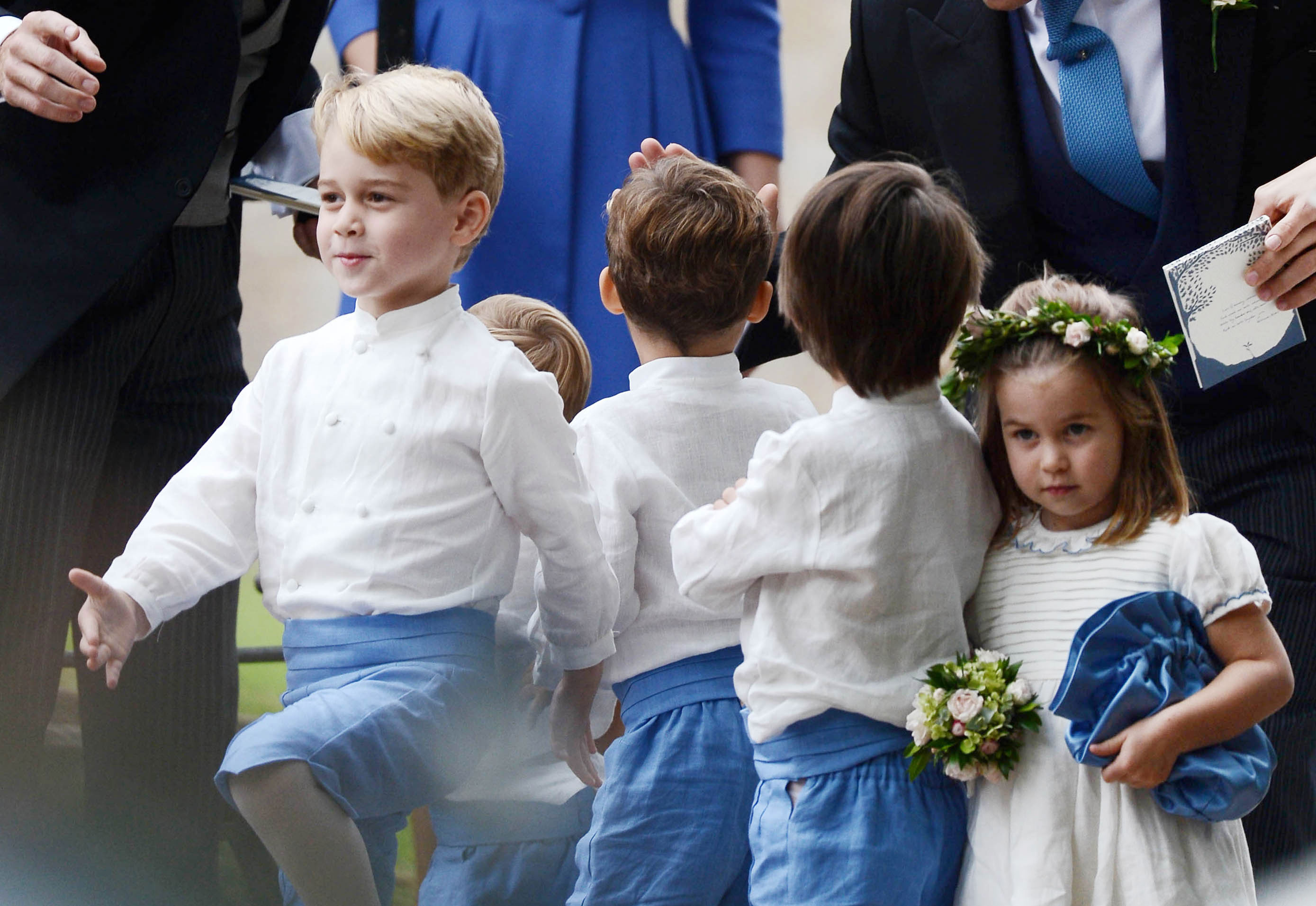 Prince George and Princess Charlotte Were in Another Wedding