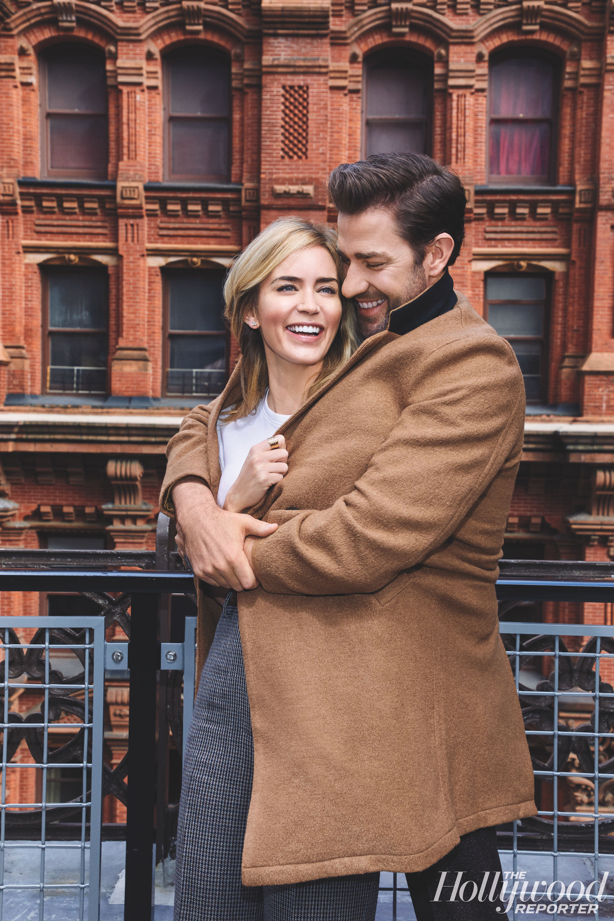 Emily Blunt and John Krasinski Just Did a Couples Photoshoot, and It's Disgustingly Adorable
