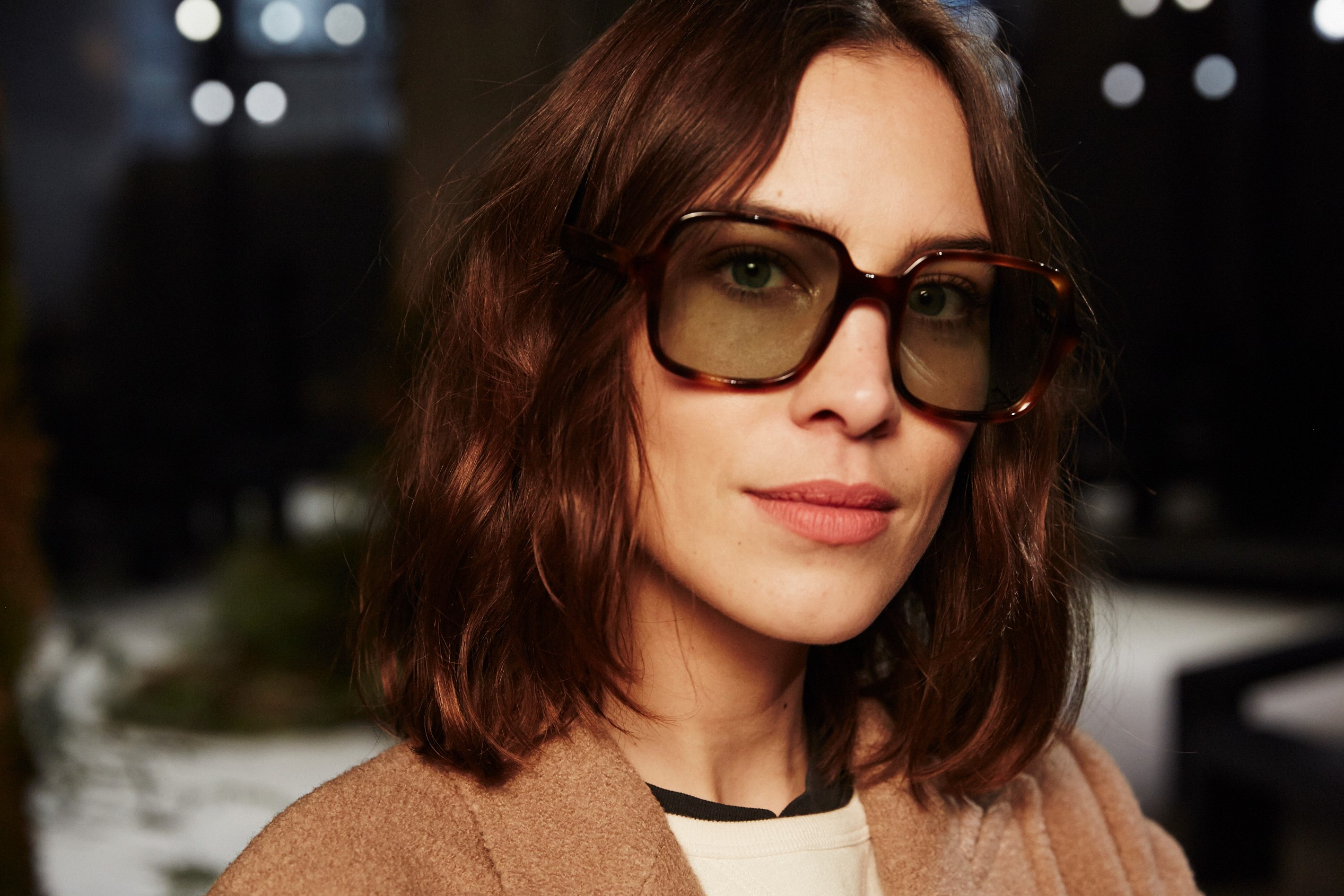 4f7cbe227f07 Alexa Chung on the One Question to Ask Yourself When Choosing Sunglasses