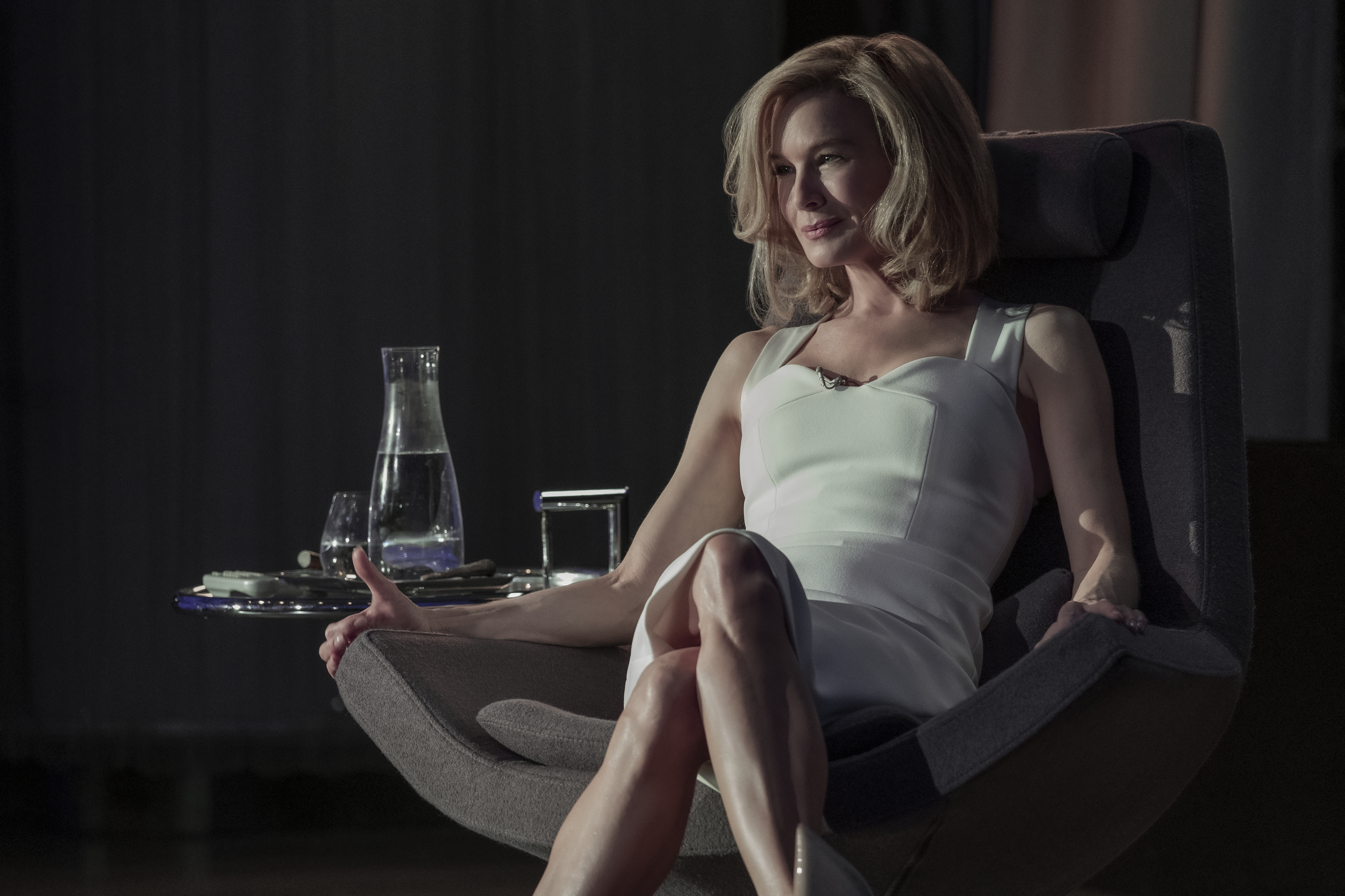 Renée Zellweger Is Serving Up <em>Basic Instinct</em> Vibes in Her Television Debut