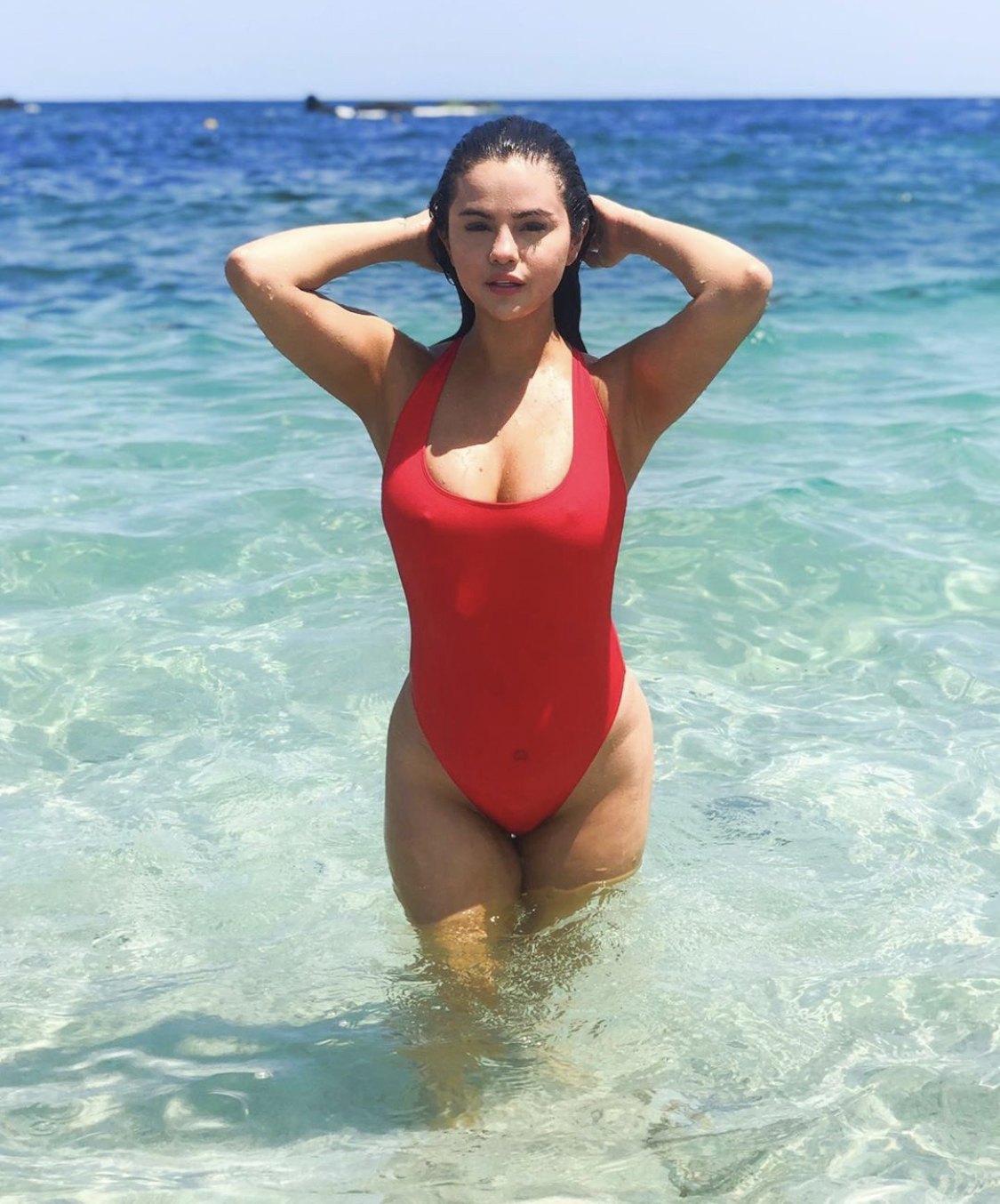 Selena Gomez Just Made a $40 Swimsuit Look Like a Million Bucks