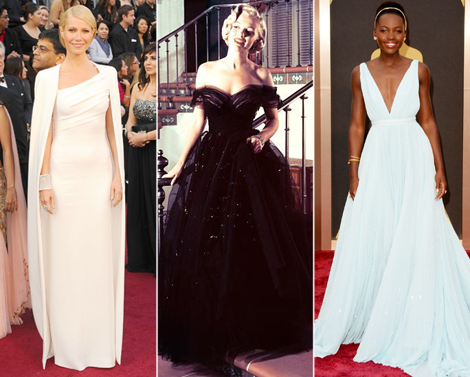 Breathtaking Oscars Gowns