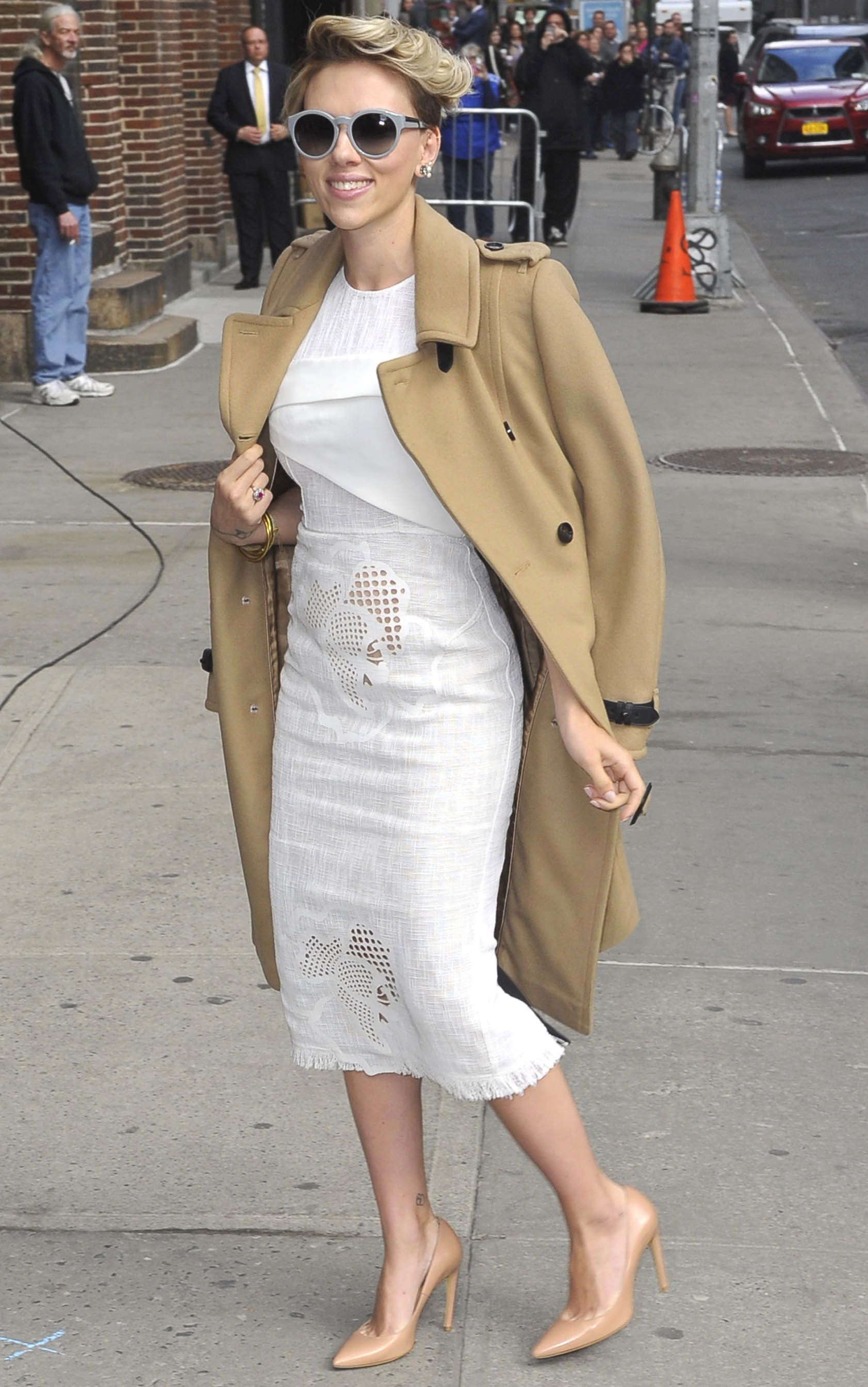 Celebrity Sightings In New York City - April 27, 2015