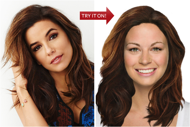 Instyle Hair : Hair Virtual Makeover - Try On Celebrity Hairstyles Online at InStyle ...
