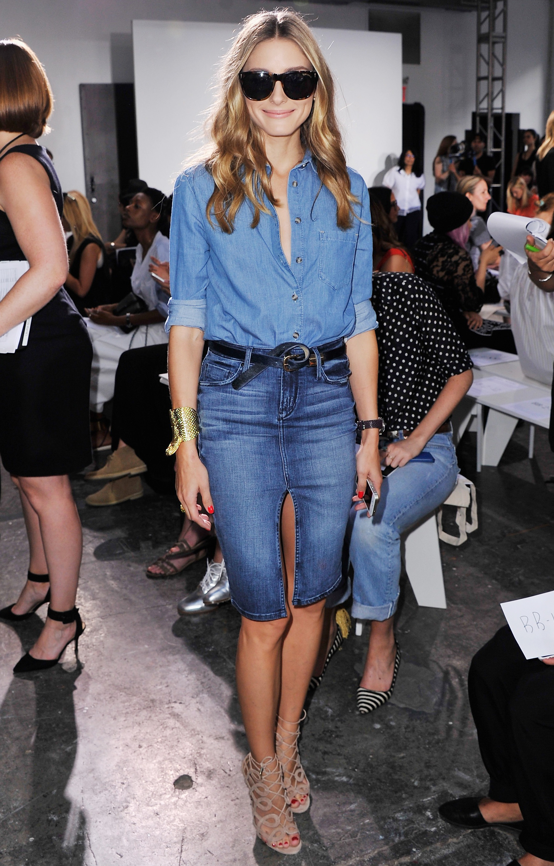Nonoo - Front Row - Mercedes-Benz Fashion Week Spring 2015
