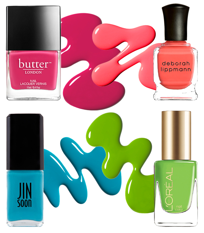 10 Nail Polishes Colors to Play Up Bronzed Summer Skin