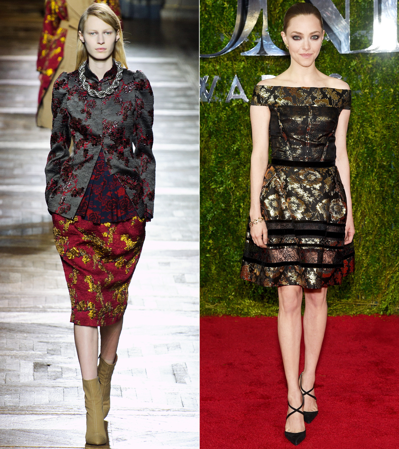 Elevate Your Fall Wardrobe with These DreamyBrocade Pieces