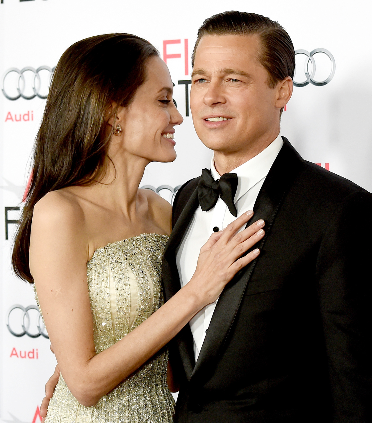 21 of Birthday Boy Brad Pitt and Angelina Jolie's Most Adorable Couple Moments