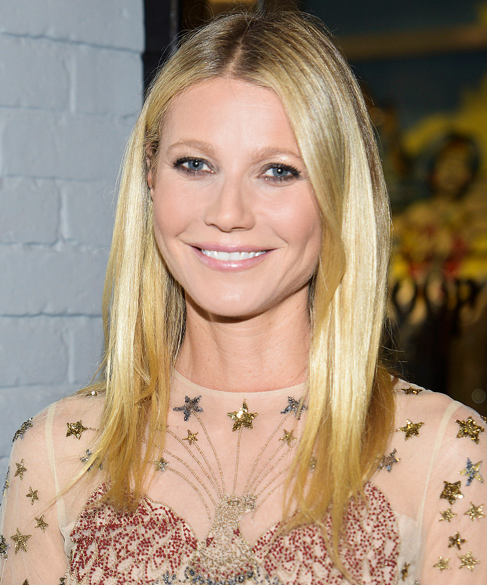 Gwyneth Paltrow attends the goop markt grand opening at The Shops at Columbus Circle on December 2, 2015 in New York City.