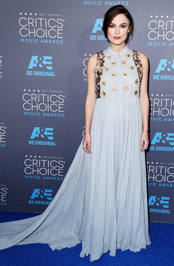 Keira Knightley's Burgeoning Baby Bump Makes Another Red Carpet Appearance