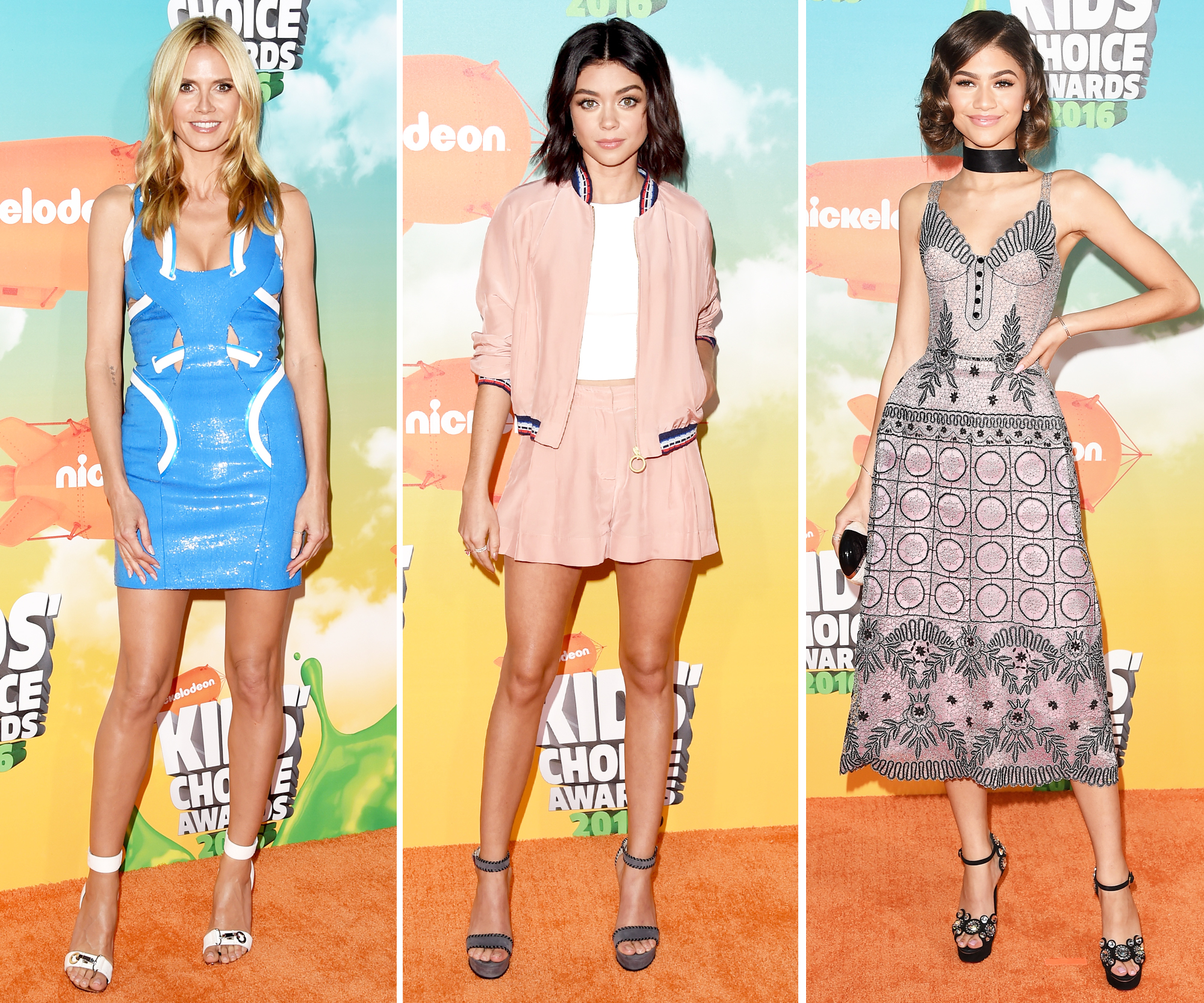 See the Best Looks from the 2016 Kids' Choice Awards Orange Carpet