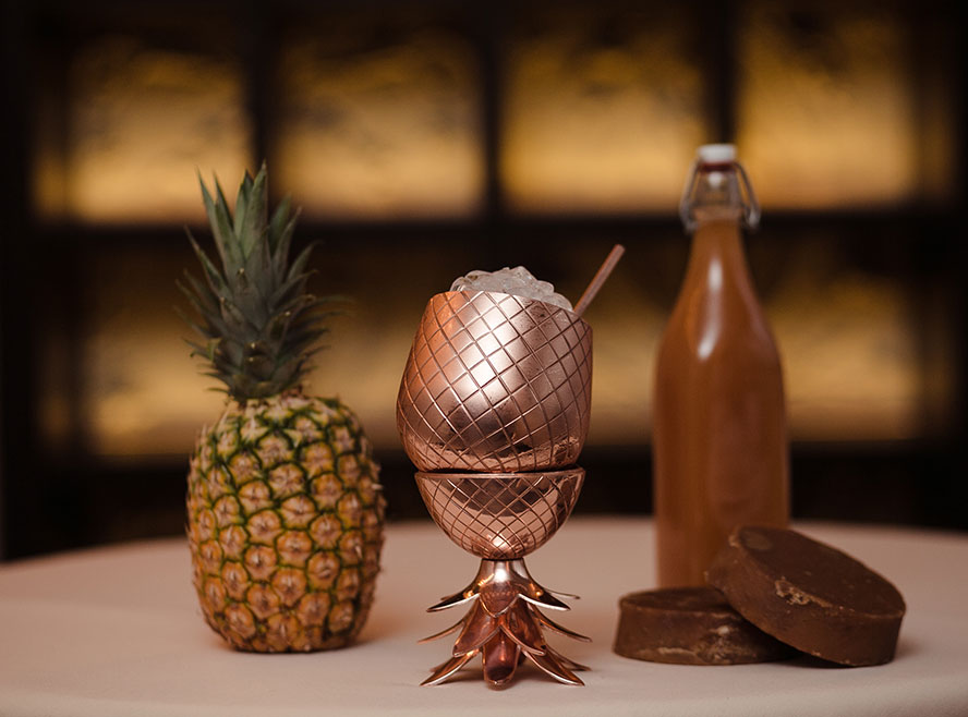 How Pineapple Skins Can Help Make Your Cocktail Even More Delicious