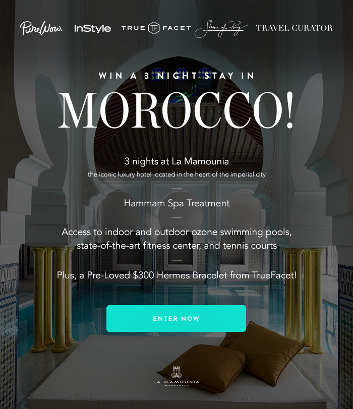 Enter Now for Your Last Chance to Win a Fabulous 3-Night Stay in Morocco!