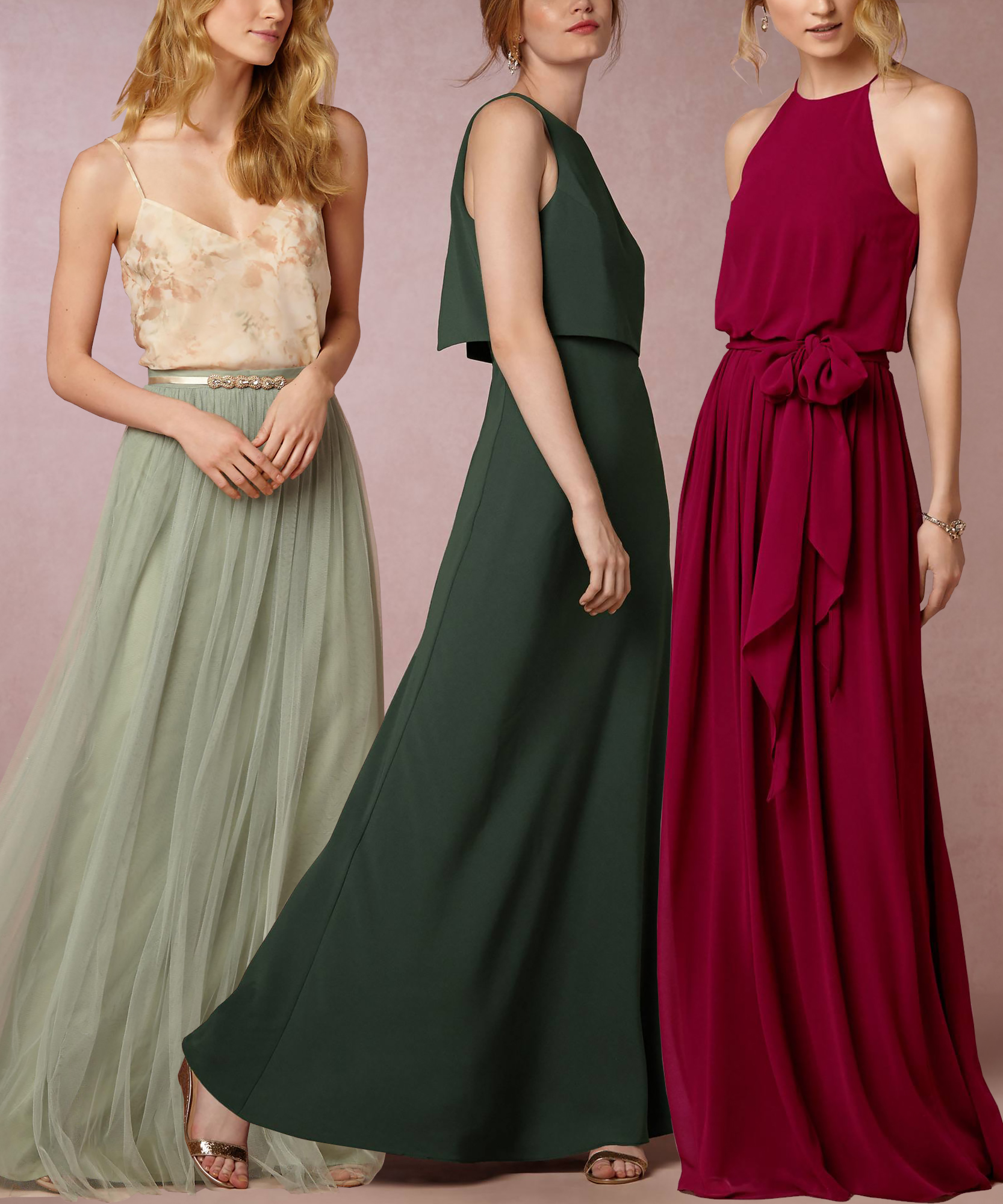 Bridesmaids Dresses To Wear Again