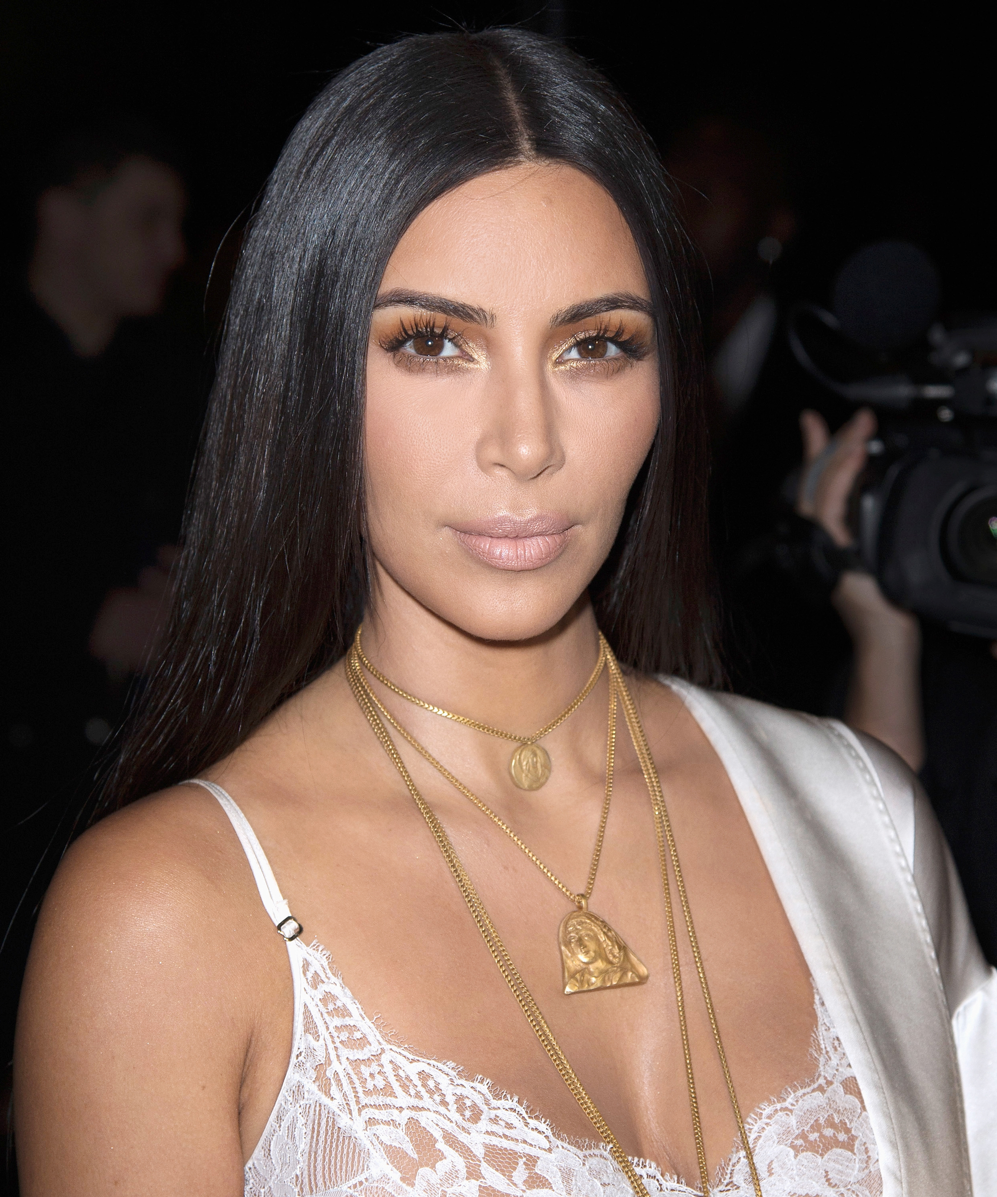 "Kim Kardashian West Gives Two Special Little Boys Their ""First Kiss"""