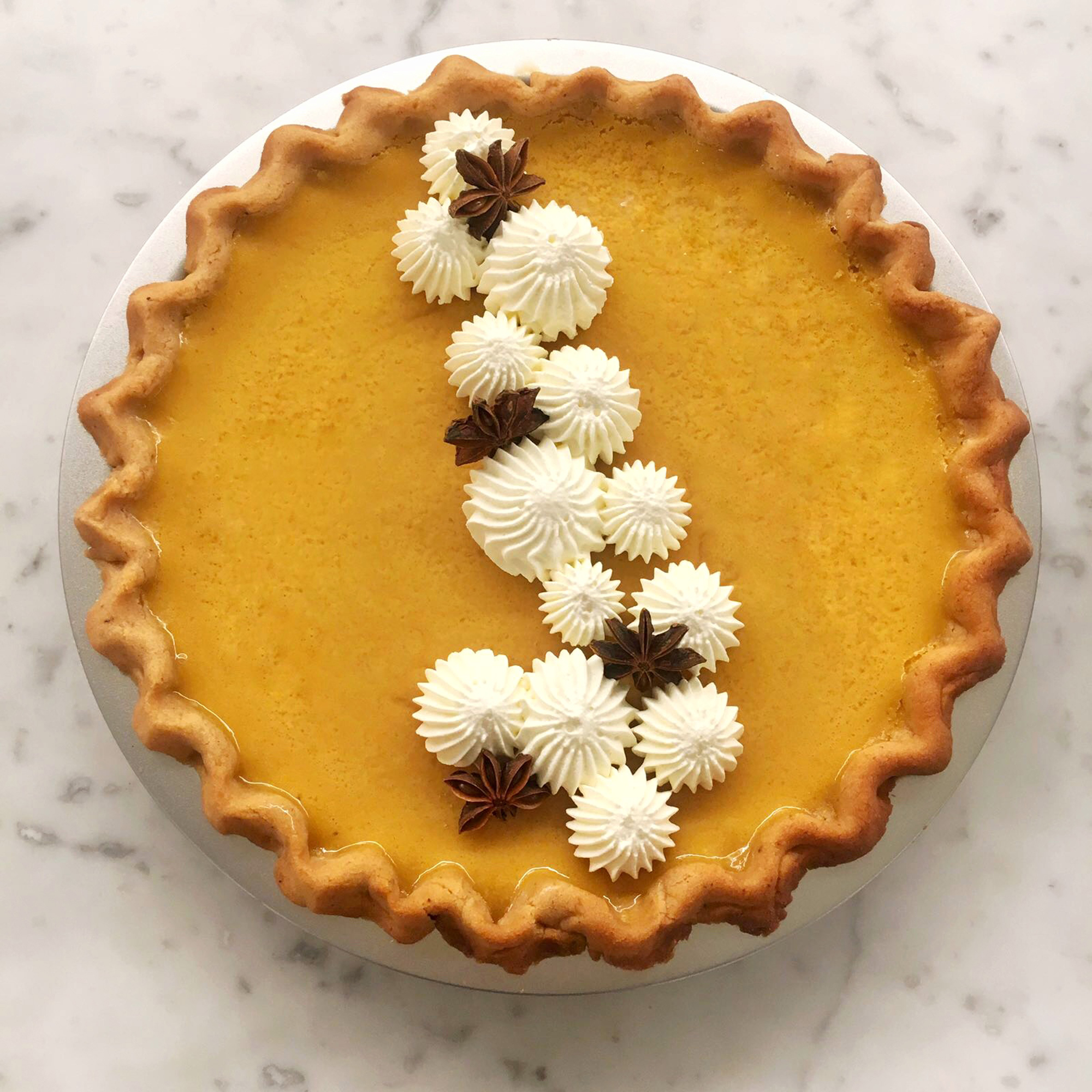 The Only Pumpkin Pie Recipe You'll Ever Need, Courtesy of Dominique Ansel