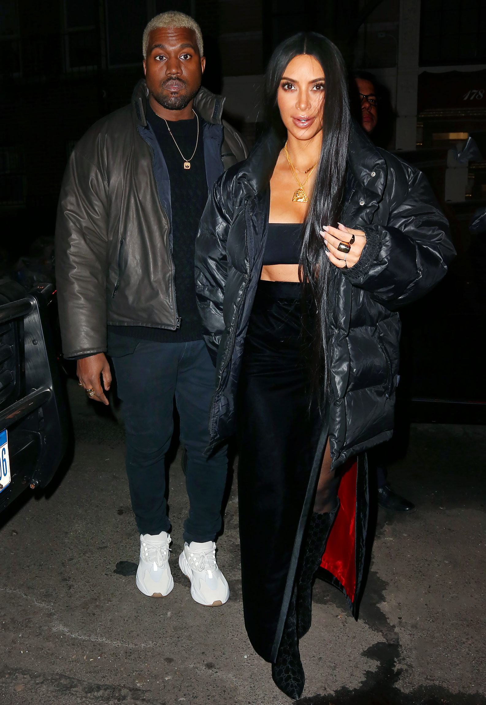 <p>Kim Kardashian and Kanye West LEAD</p>