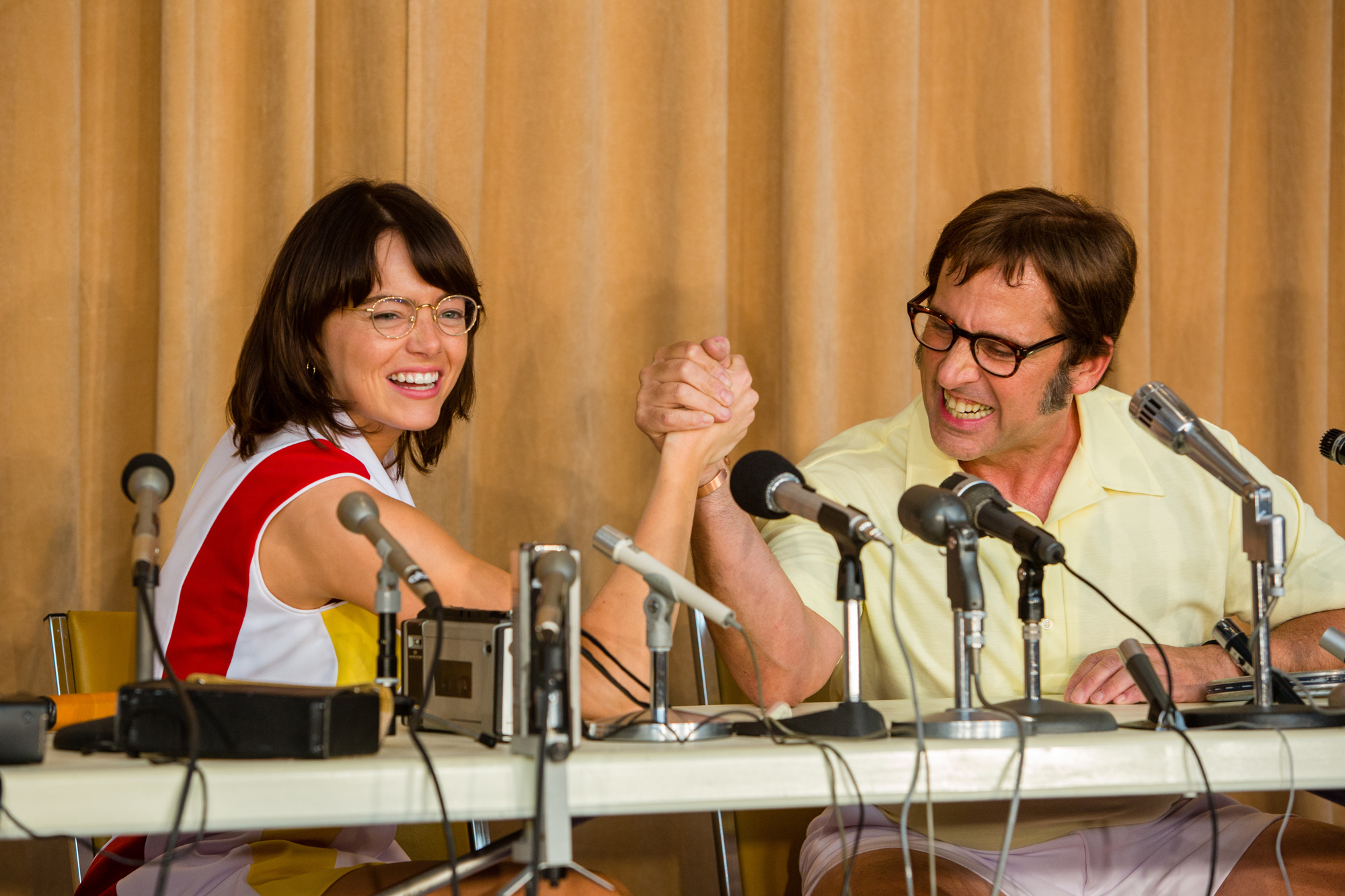 <em>Battle of the Sexes</em> Features a '70s Tennis Duel, Sex, Gambling, and My Husband (Well, Sort Of)