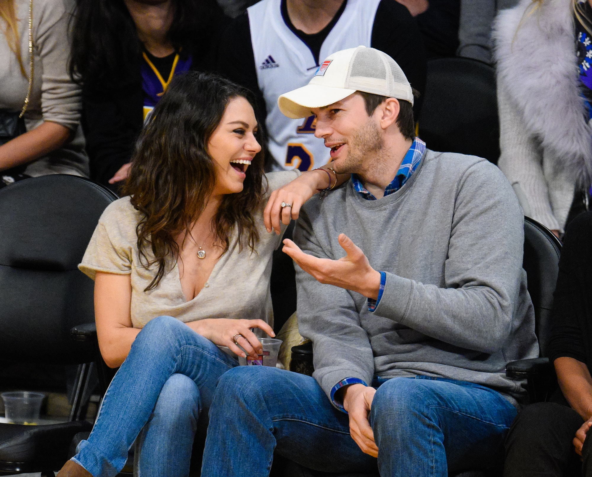 Ashton Kutcher and Mila Kunis Are Relieved <em>Bachelor in Paradise</em> Wasn't Canceled
