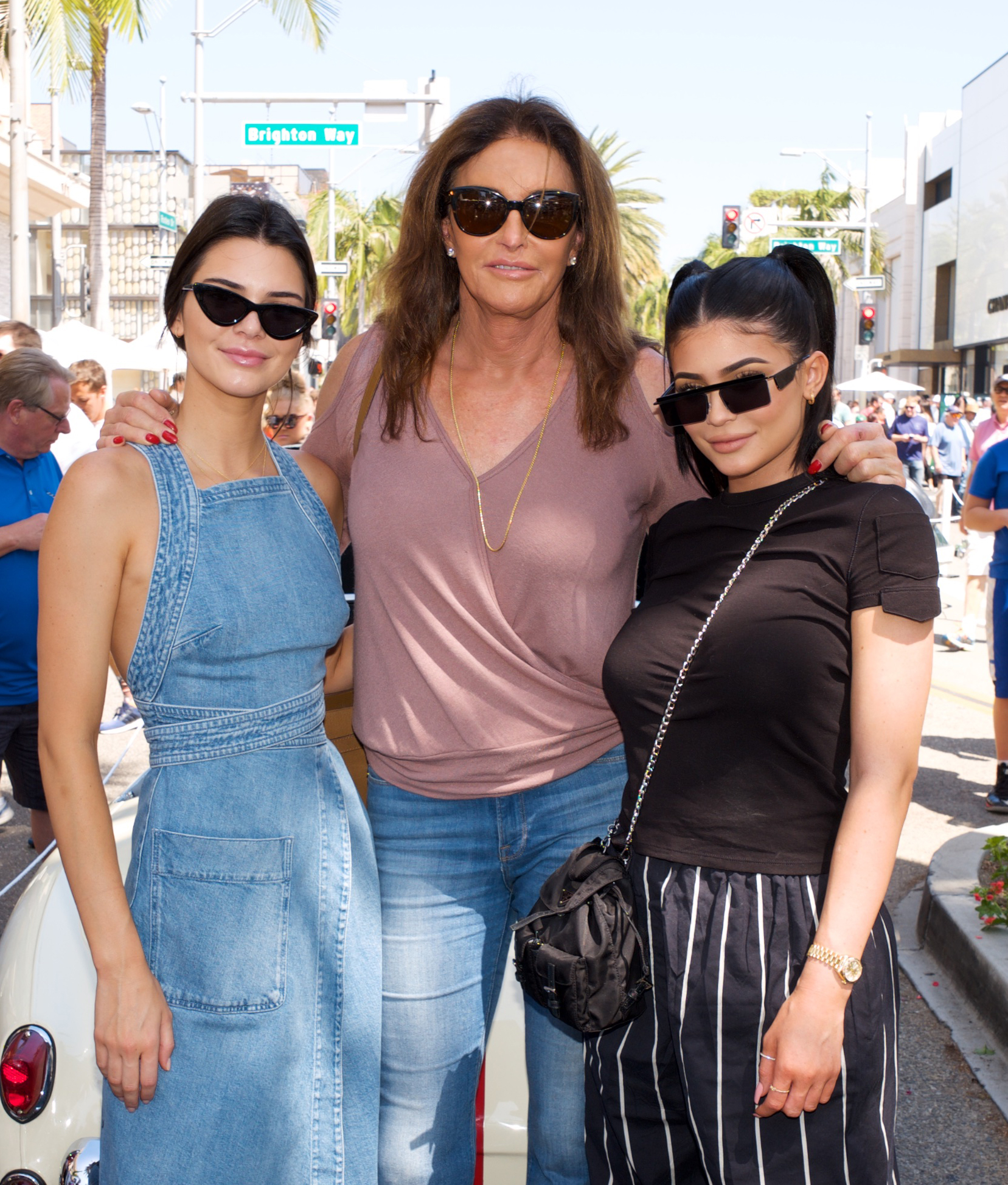 <p>Kendall, Caitlyn, and Kylie Jenner</p>