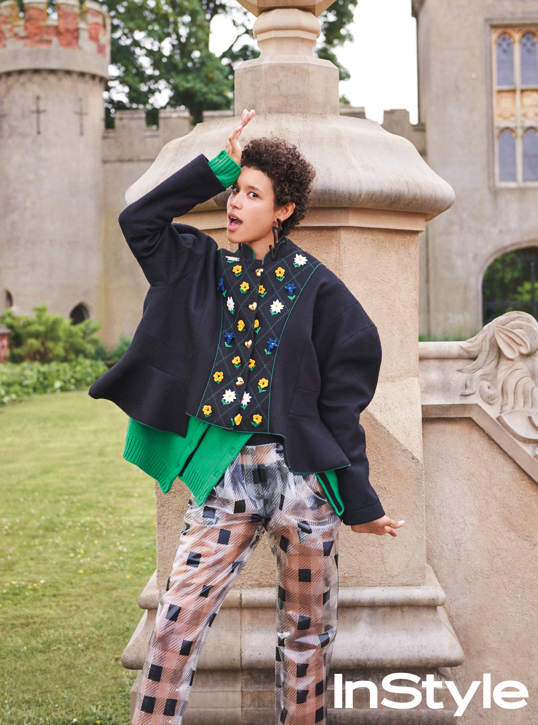 Get Model Dilone's Quirky, Boy-Borrowed Look from Our September Issue