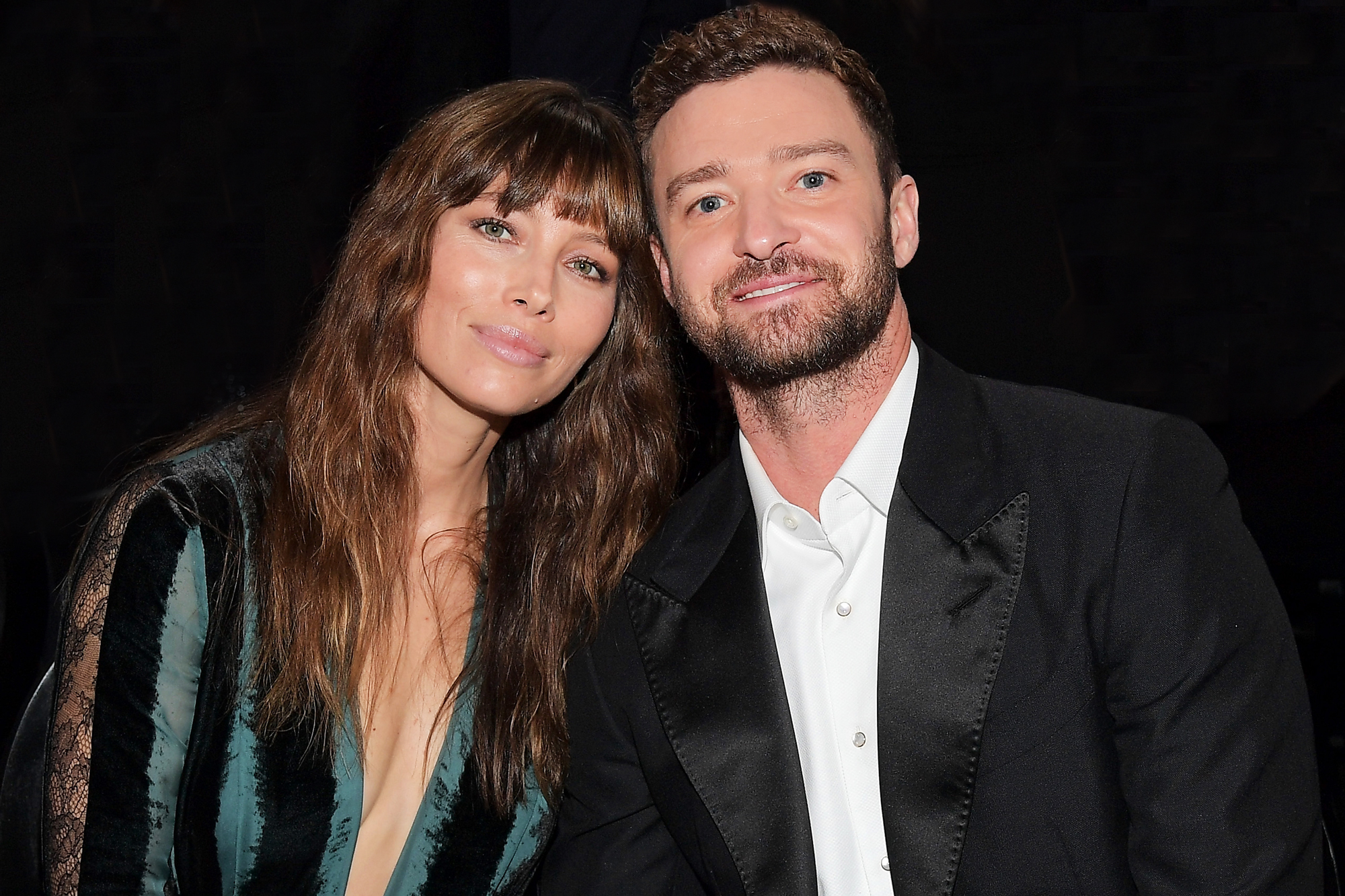 Justin Timberlake and Jessica Biel Step Out in Matchy Date Night Outfits