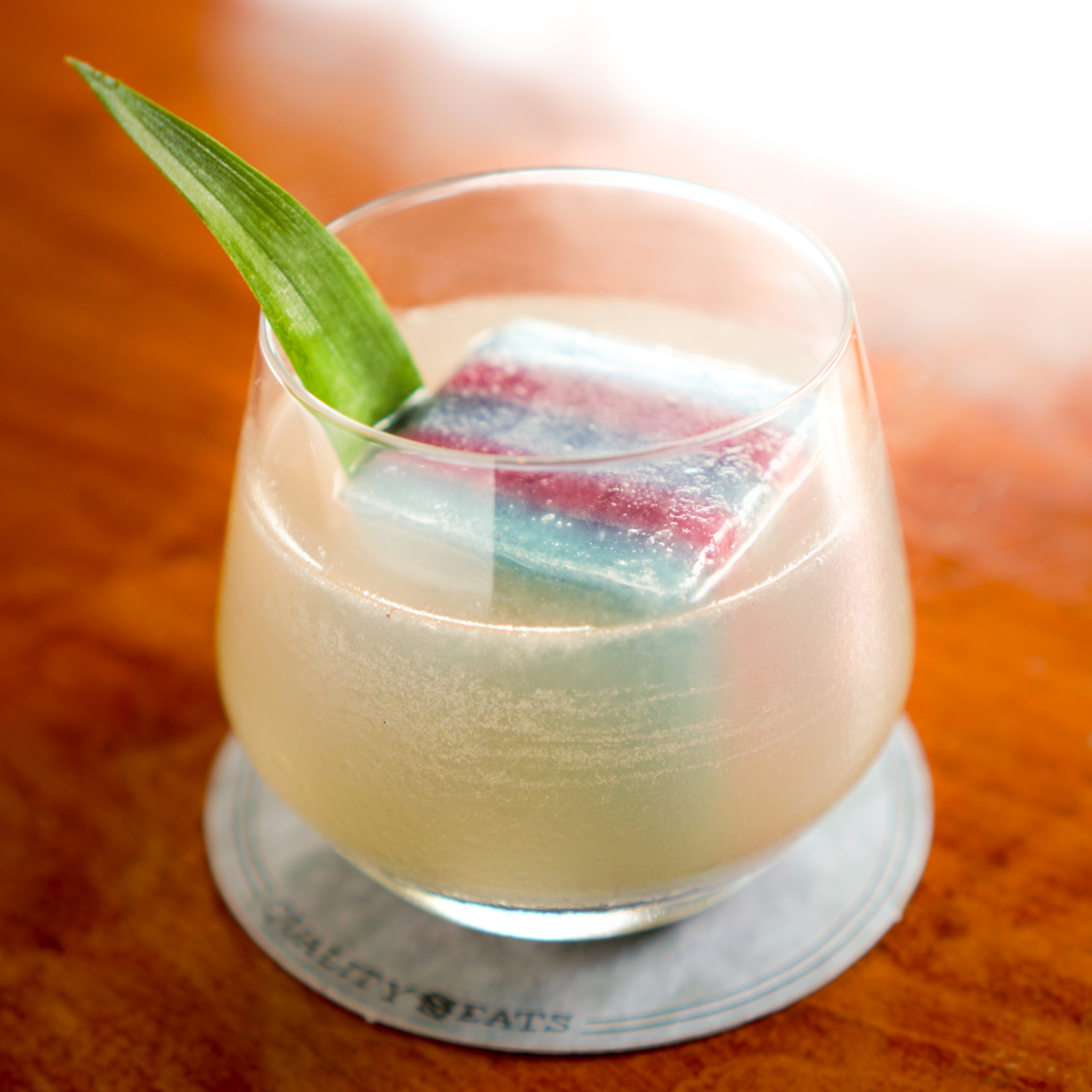 You've Never Seen a Cocktail With an Ice Cube Like This
