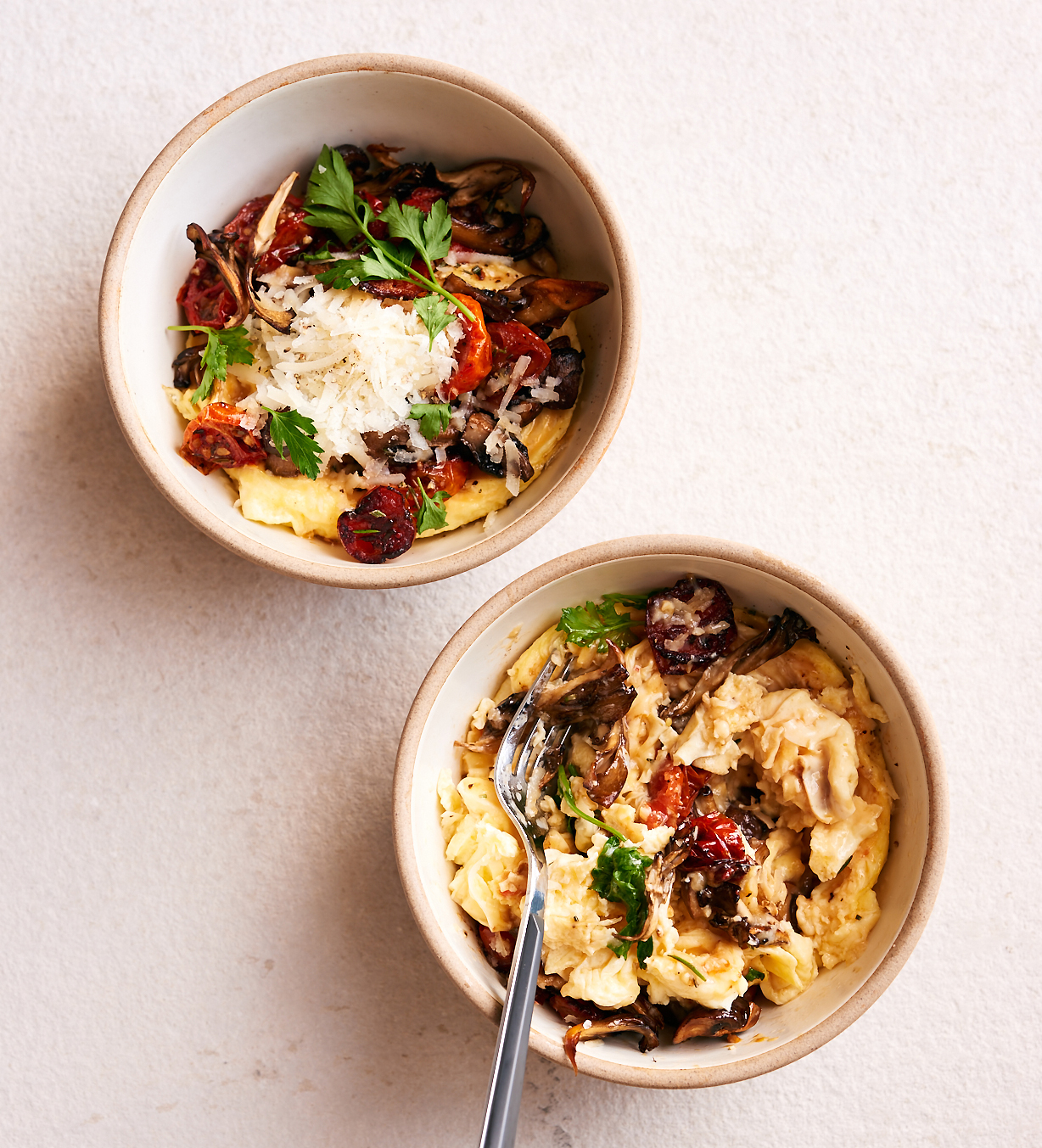This Decadent Mushroom & Eggs Scrambler Is All You Need This Weekend