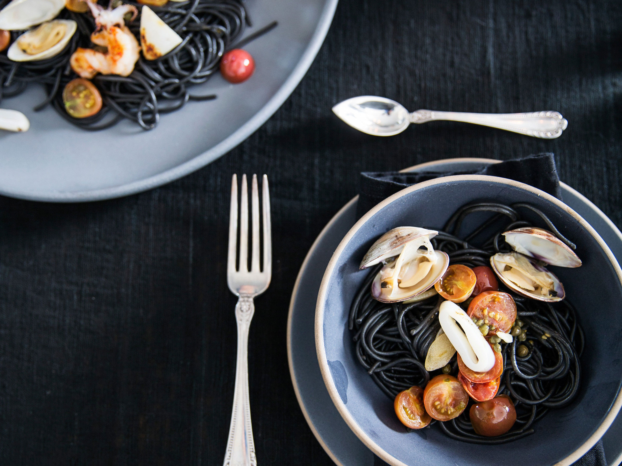 Impress Your Friends With This Easy Squid Ink Pasta Recipe