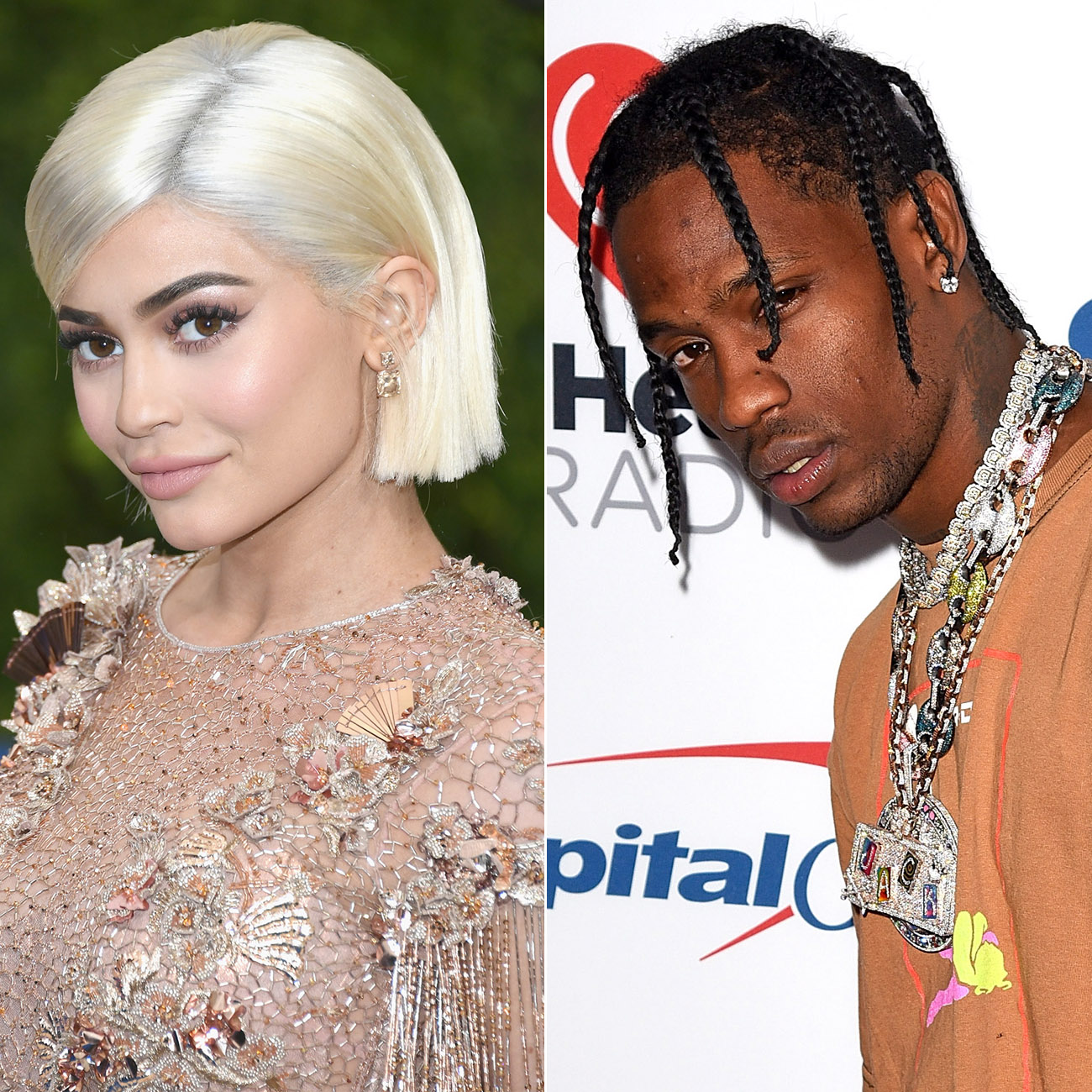 <p>Kylie Jenner and Travis Scott</p>