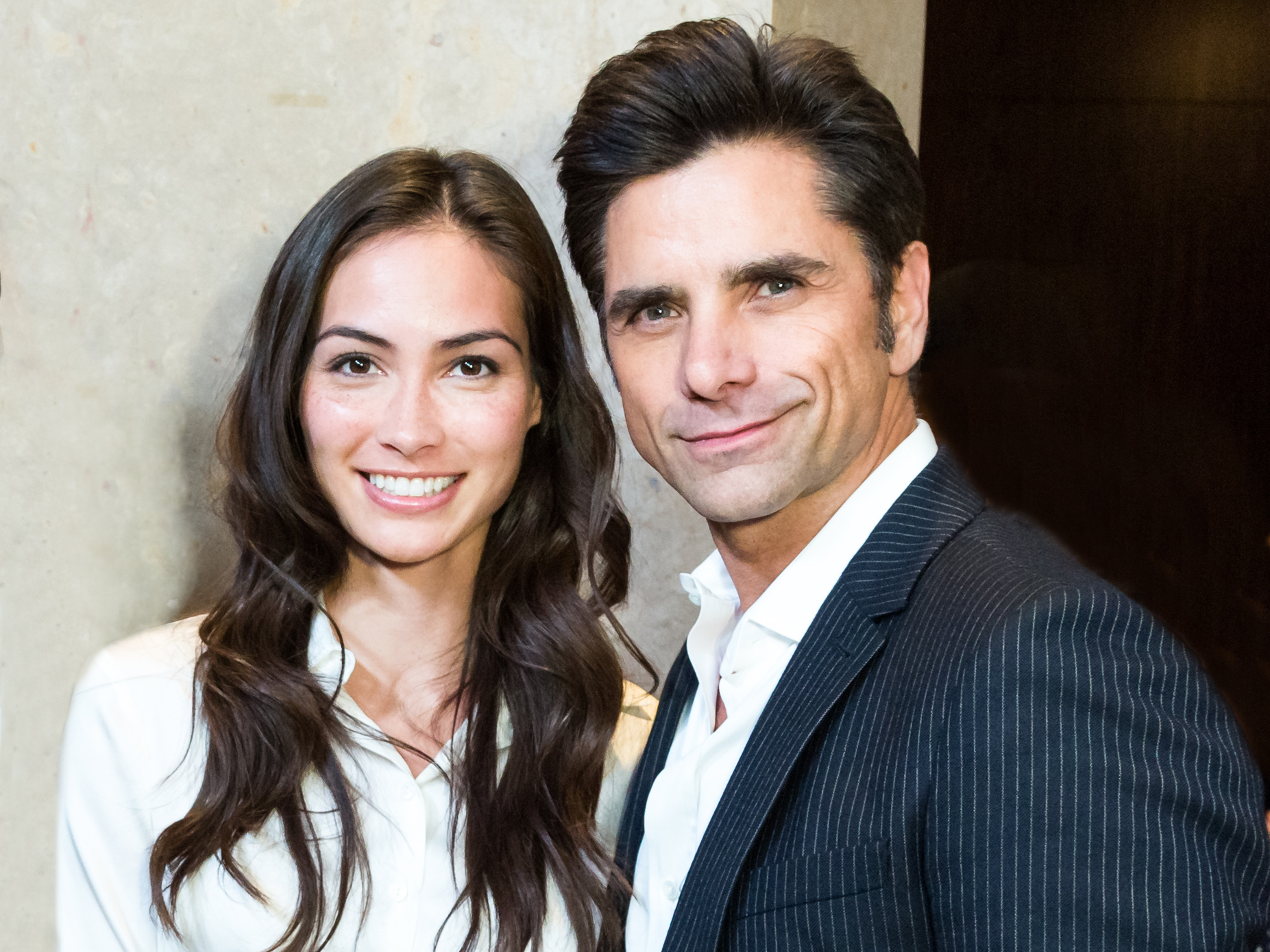John StamosIs Expecting His First Child with Fiancée Caitlin McHugh
