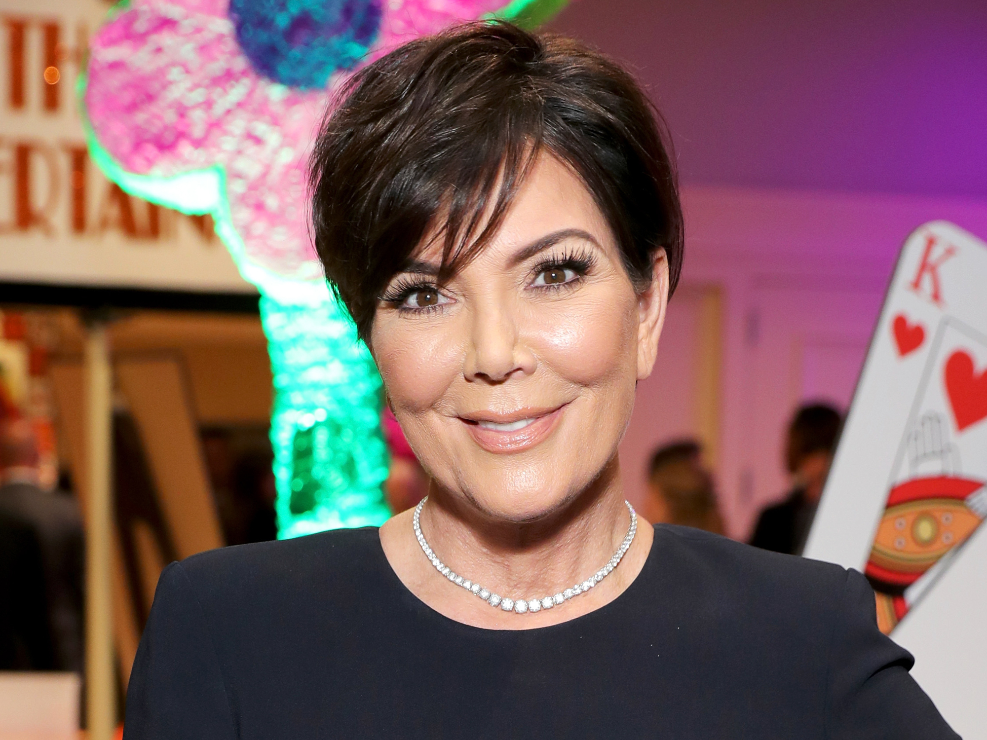 Kris jenner blonde hair pixie cut instyle urmus Image collections