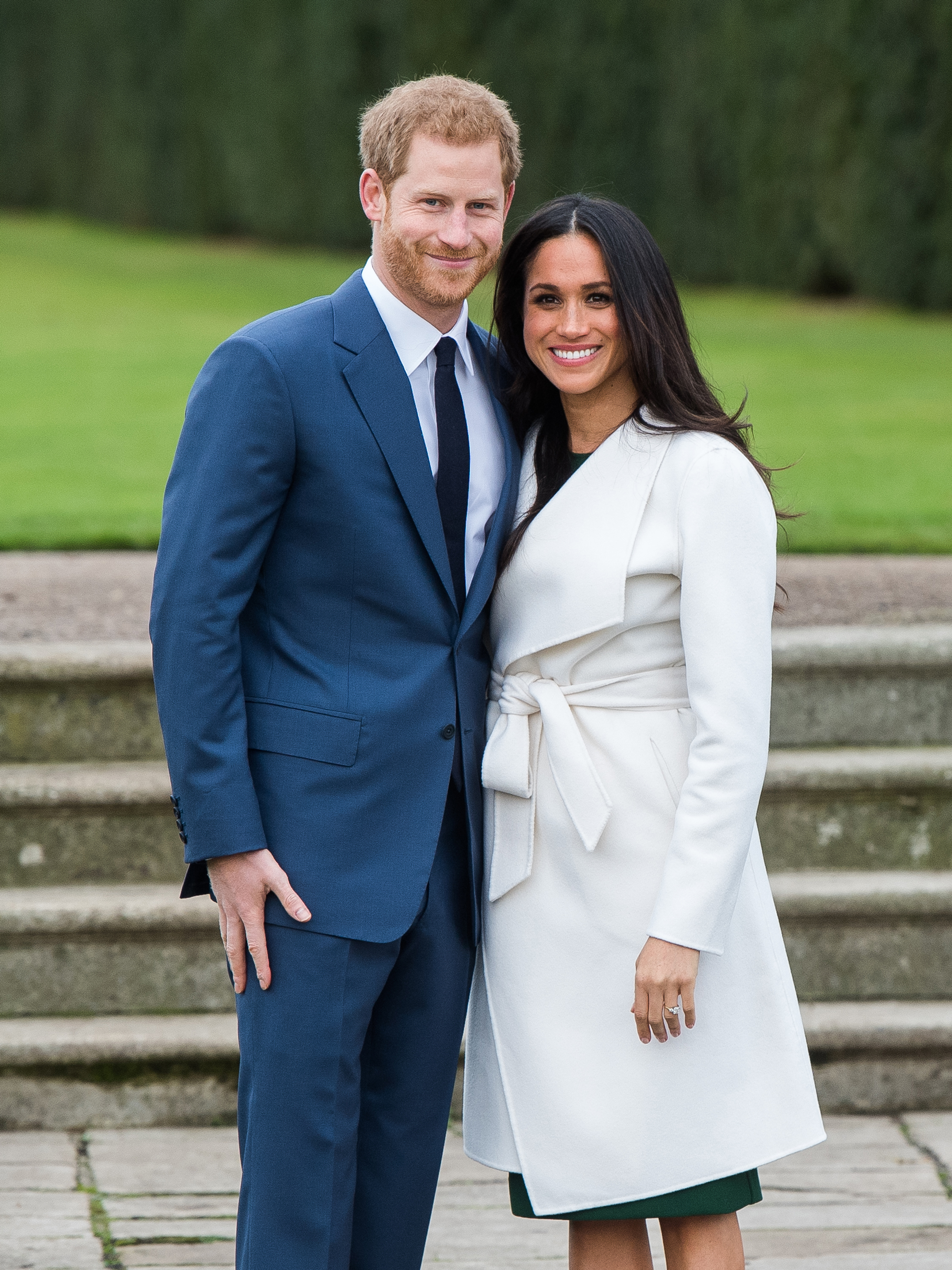 <p>Prince Harry and Meghan Markle</p>