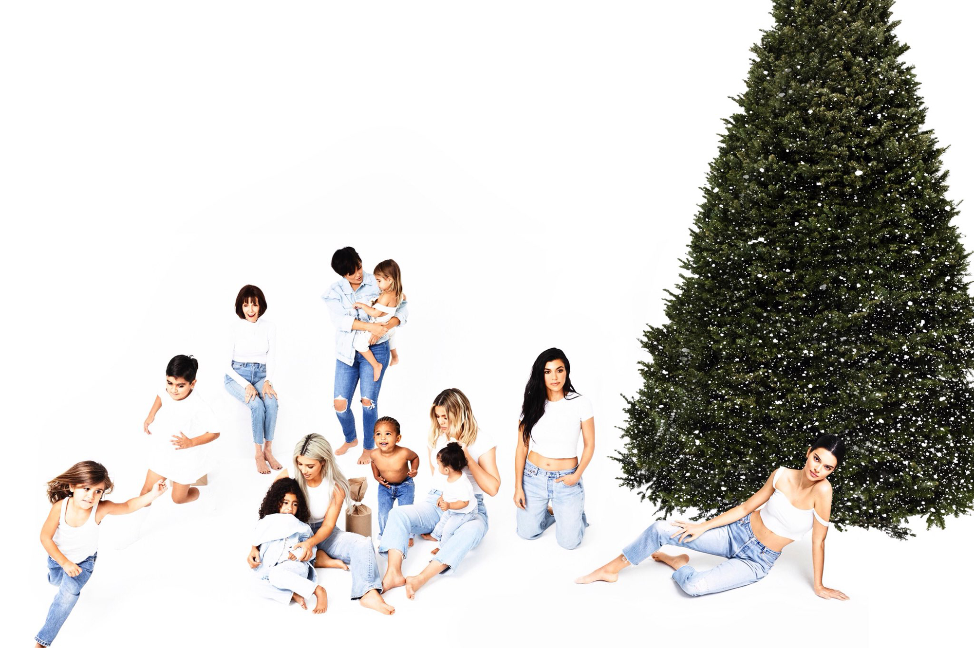 The 2018 Kardashian Christmas Card Is Officially Canceled — but with Good Reason