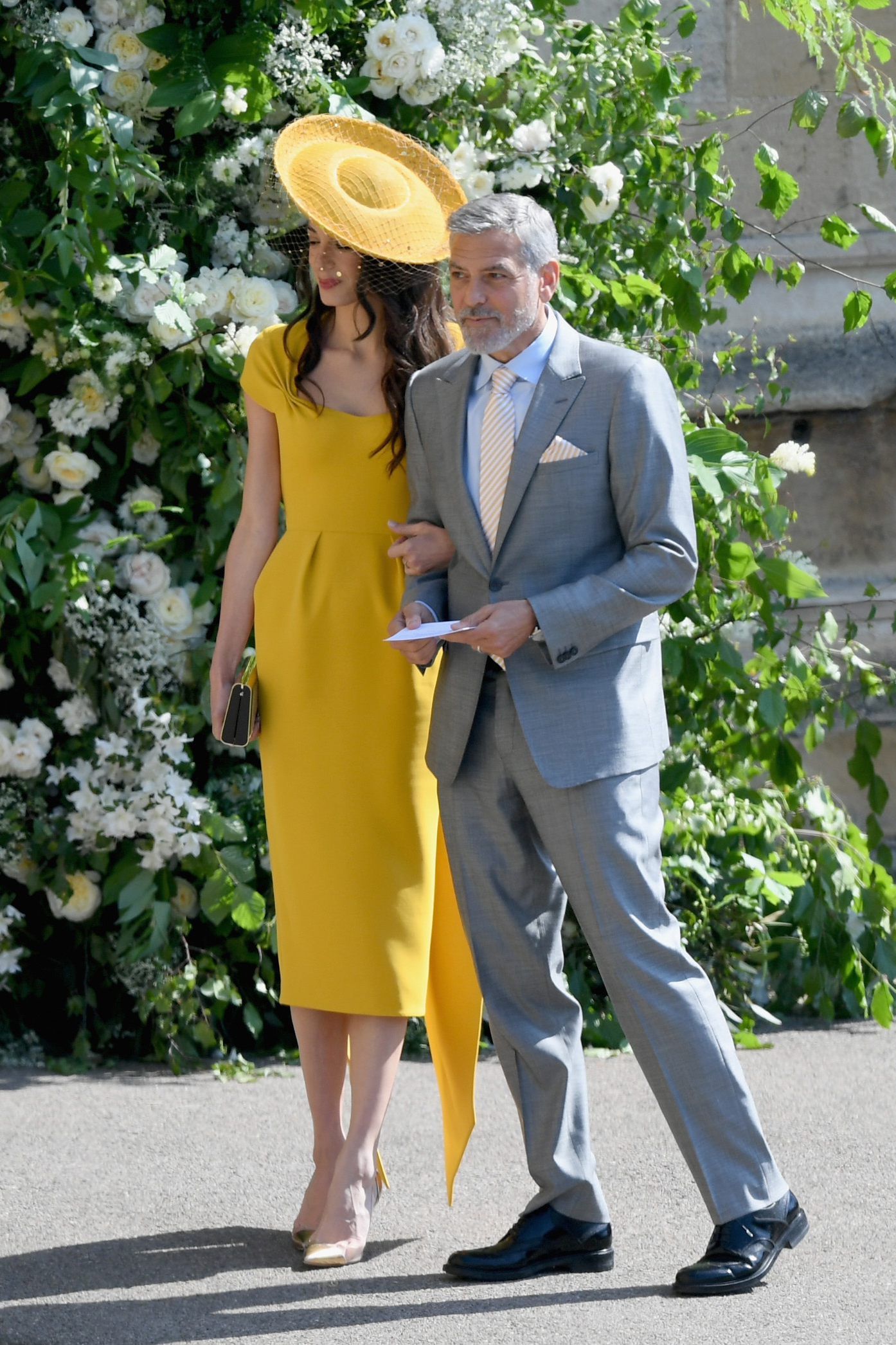 Where to Get Amal Clooney's Yellow Stella McCartney Dress from the Royal Wedding