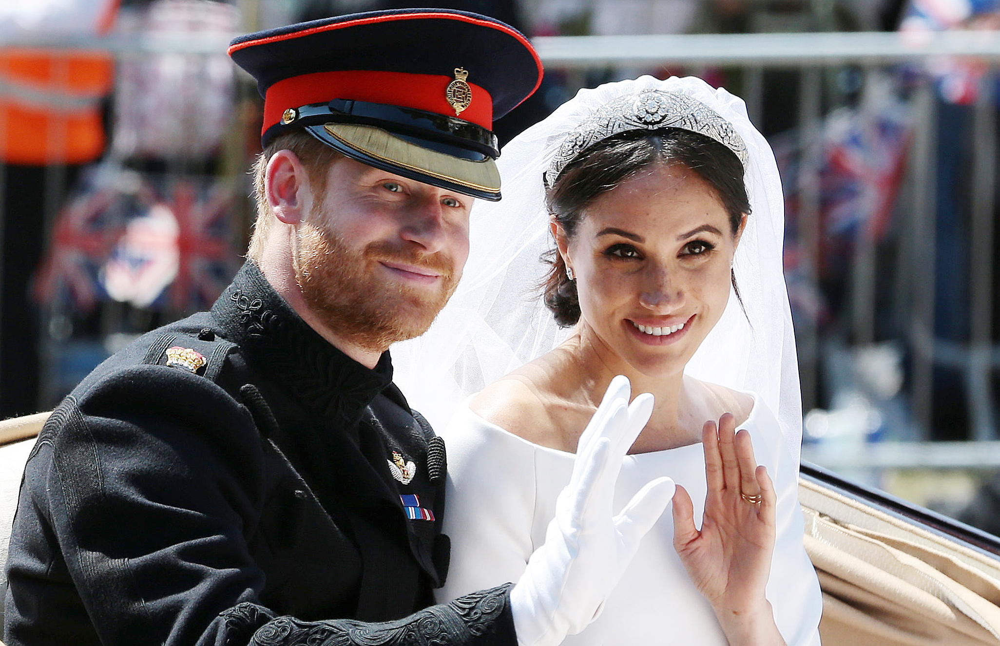 Meghan Markle and Prince Harry Celebrate Their First Anniversary with Never-Before-Seen Wedding Photos