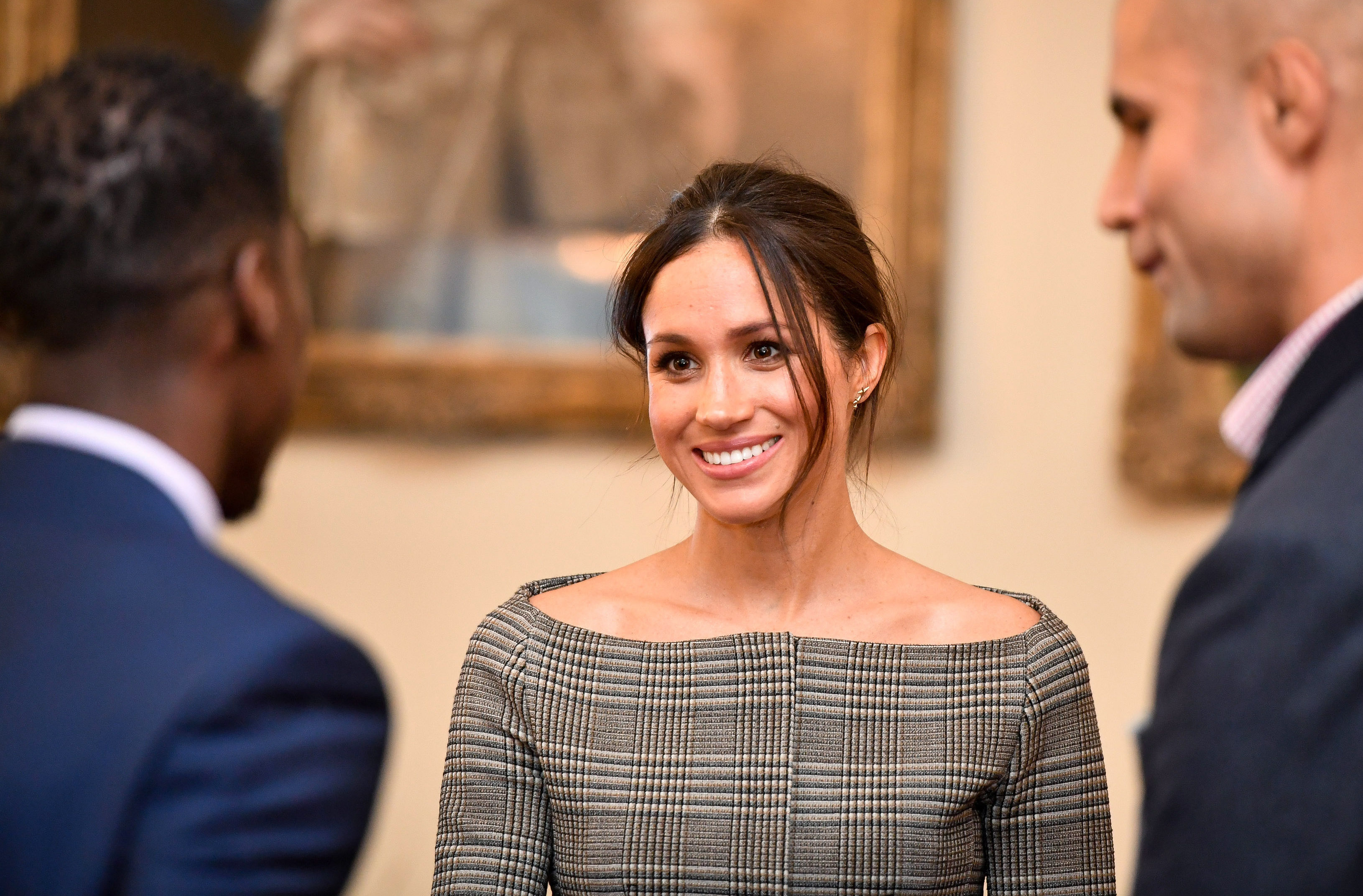 Gasp! Is Meghan Markle's Work-Appropriate, Off-the-Shoulder Top Back in Stock?