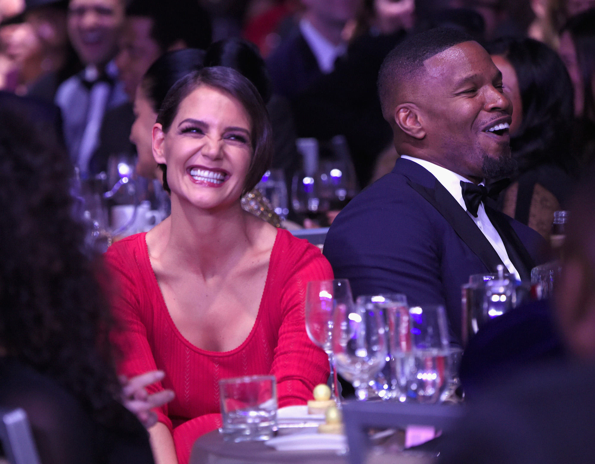 Katie Holmes and Jamie Foxx Are Now Flaunting Their Love Across the Country